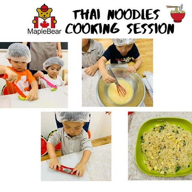 At Maplebear Westcoast we inspire the love of learning and good food. This week our children experienced thai cuisine and enhanced fine motor skills. #raddishkids #earlychildhoodeducation #maplebearwestcoast