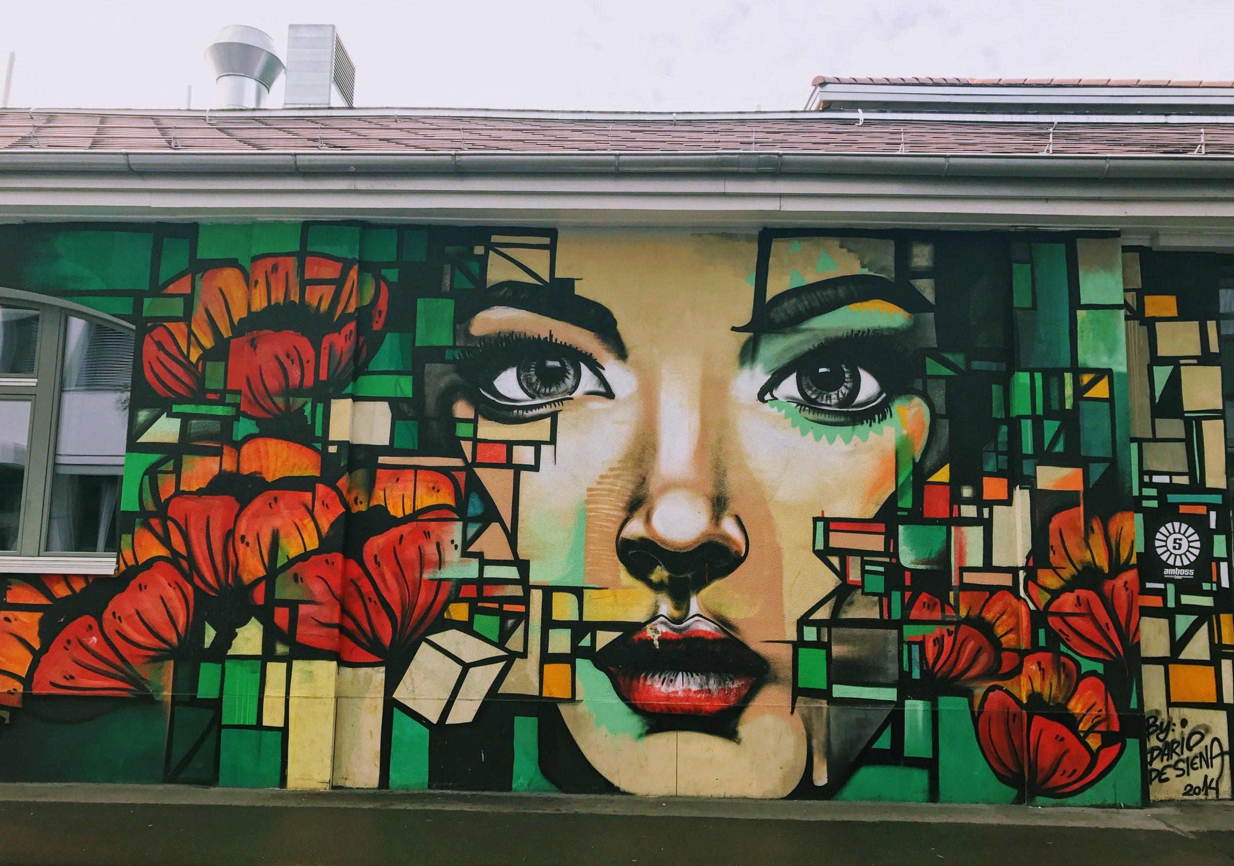 Zuri West street artjpg