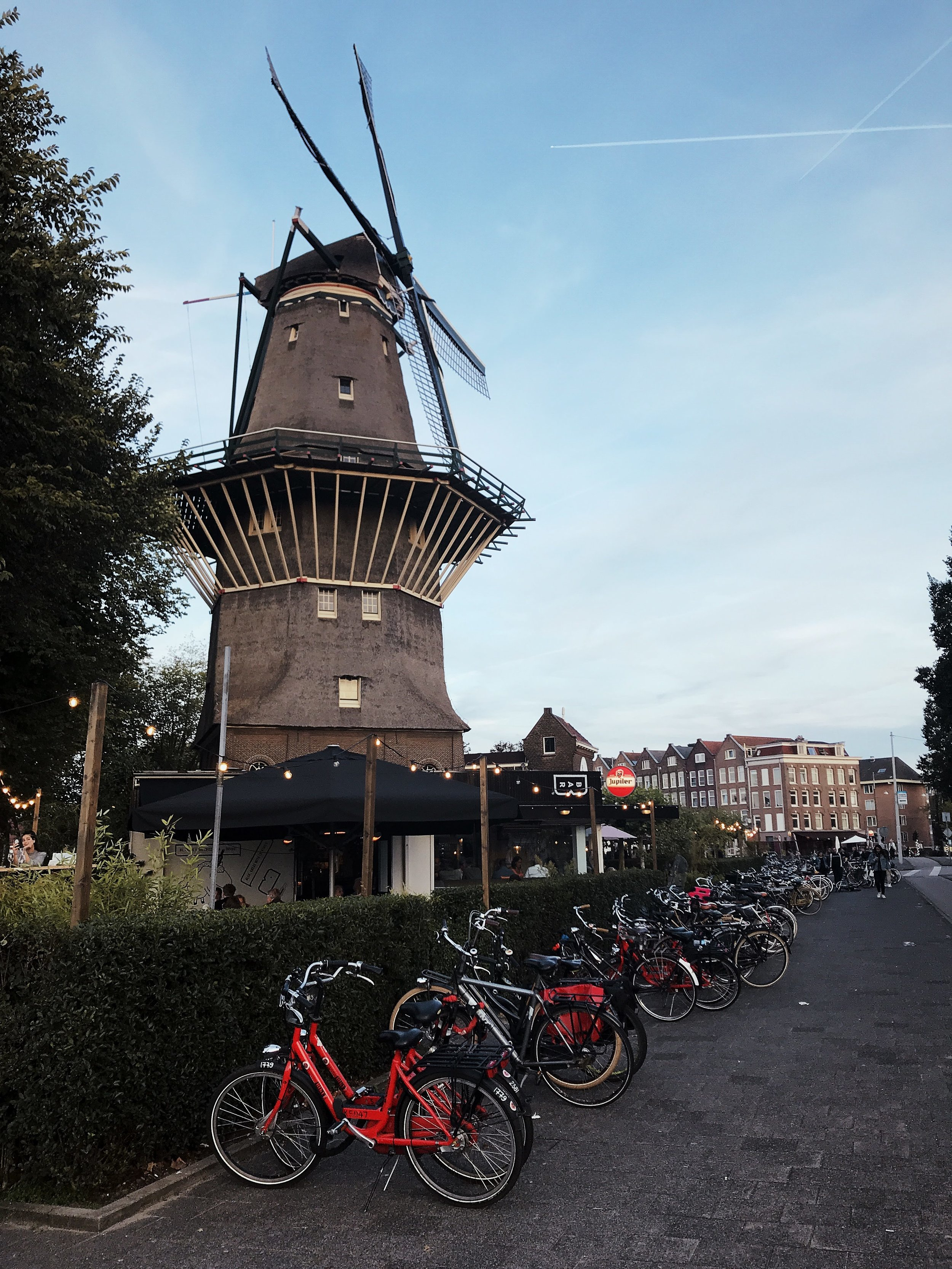 Windmill at Brouwerij 't IJ