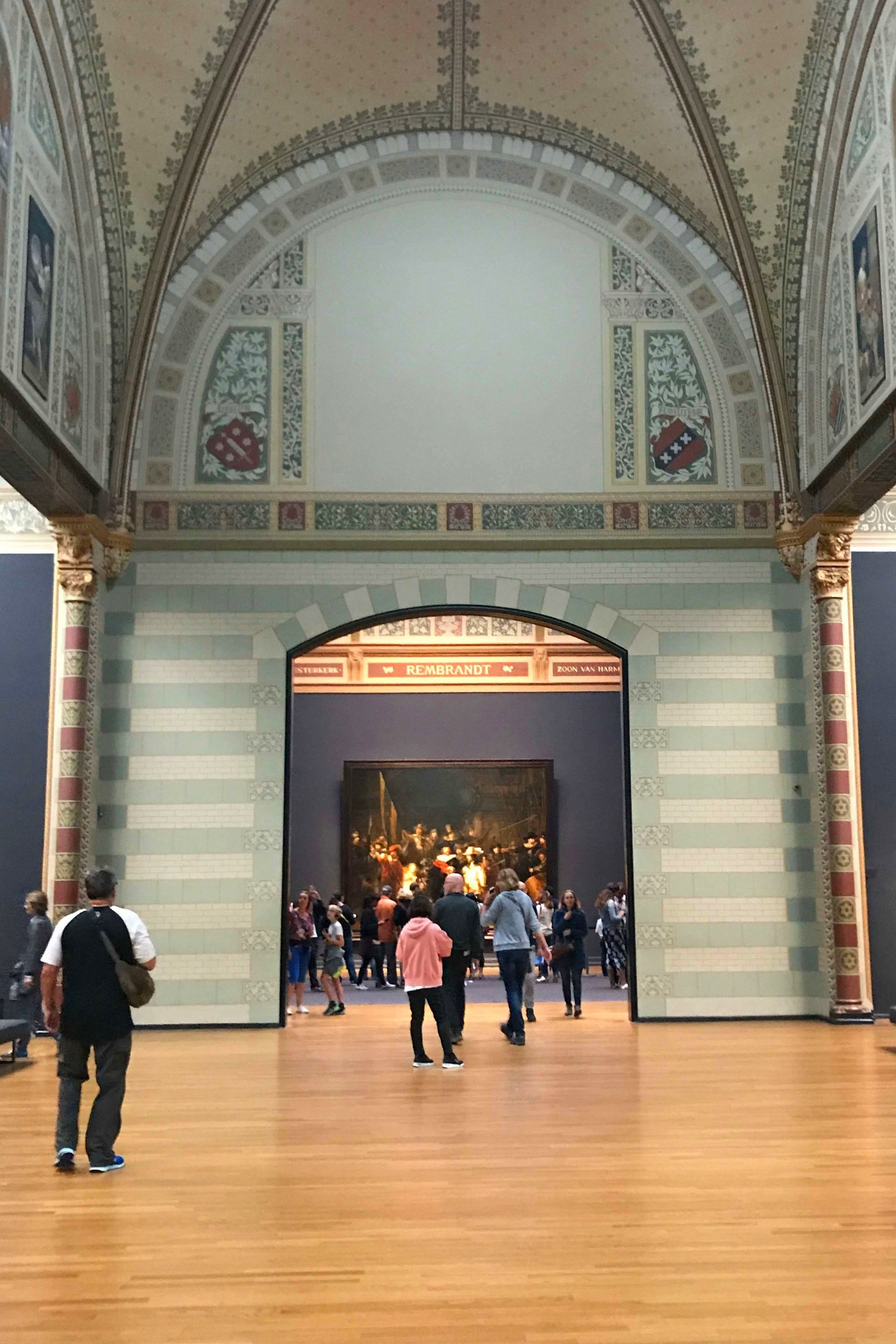 Night's Watch gallery in Rijksmuseum