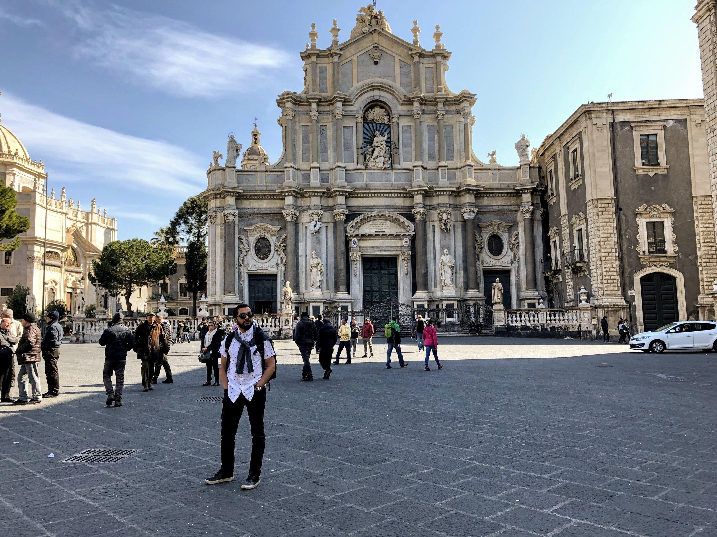 Cattedrale di Sant'Agata in the Piazza di Duomo