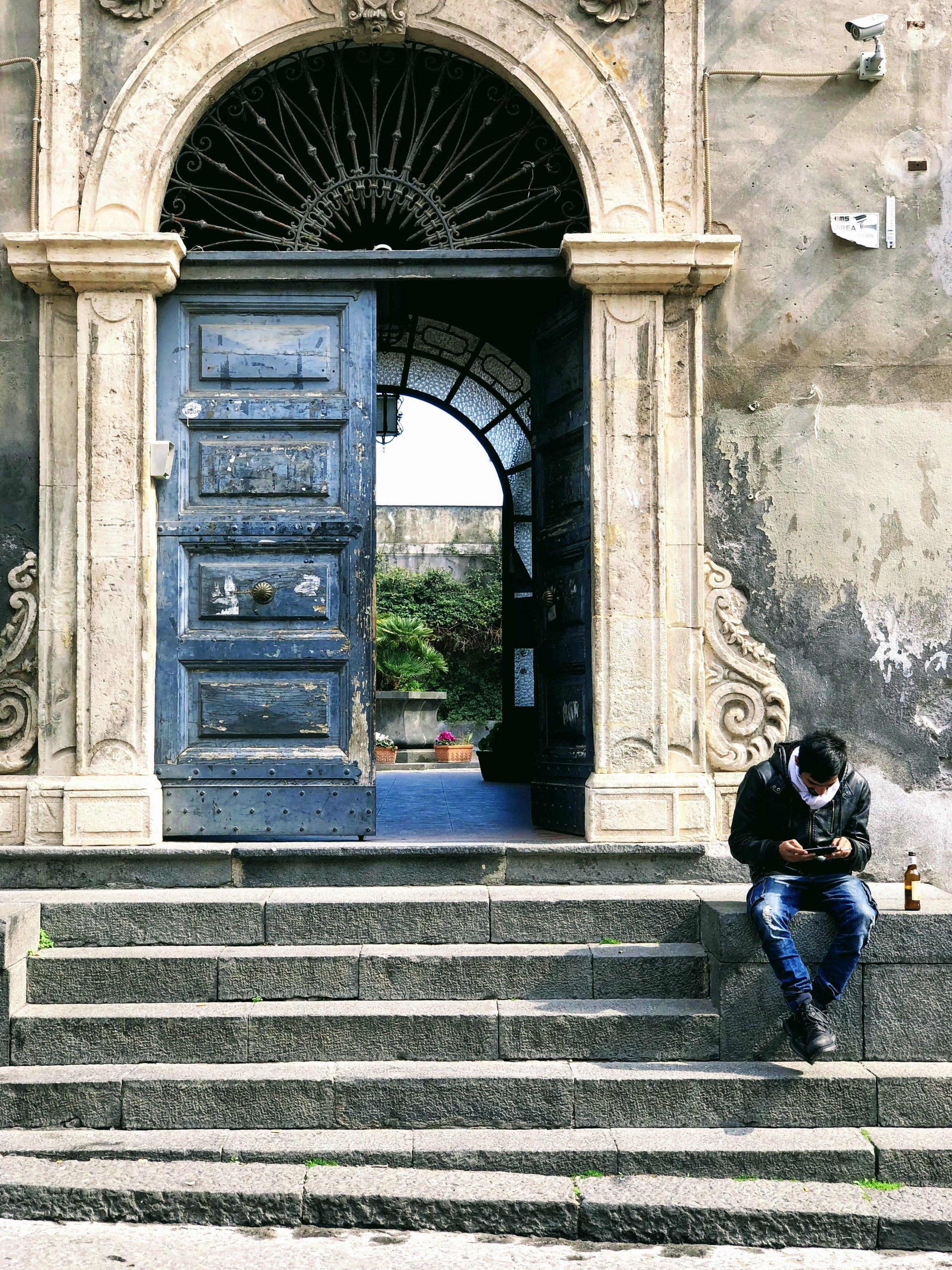 Streets of Catania, Sicily