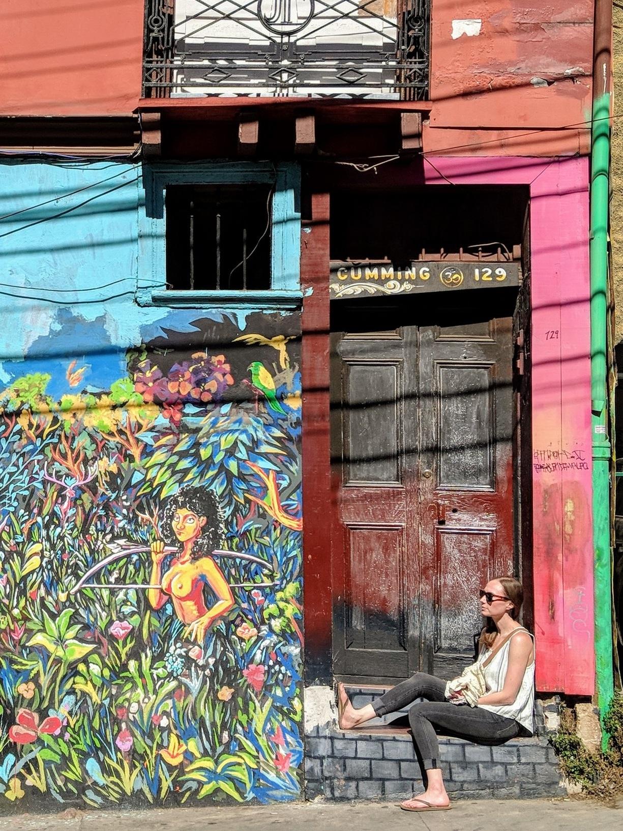 Street Art in Valpariso, Chile