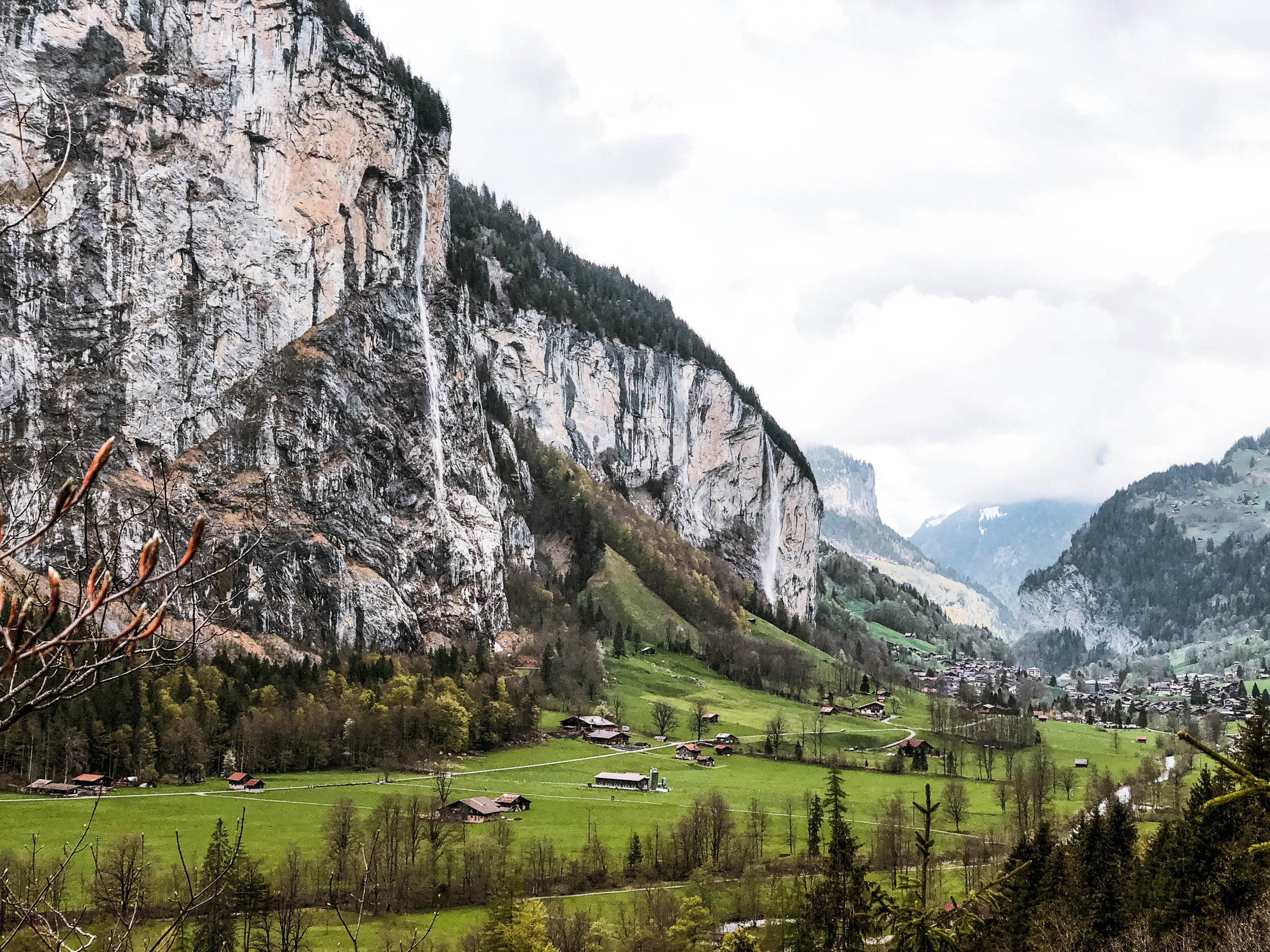 Lauterbrunnen Valley hike, Trümmelbach Falls
