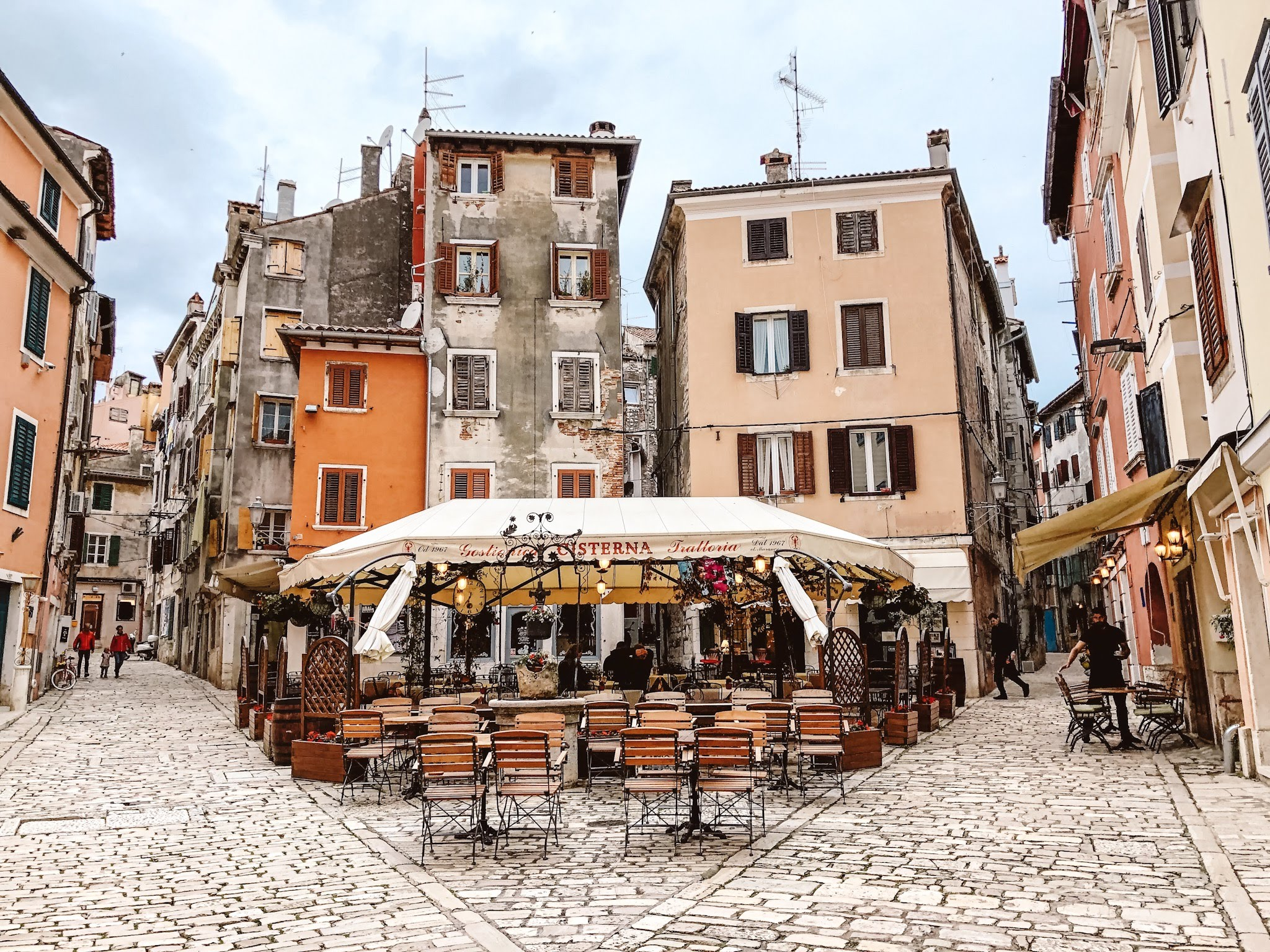 Plaza in Rovinj