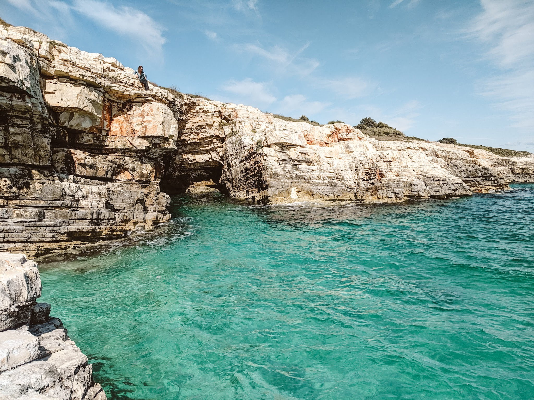 Beach at Cape Kamenjak, Prematura, Pula, Istria Croatia