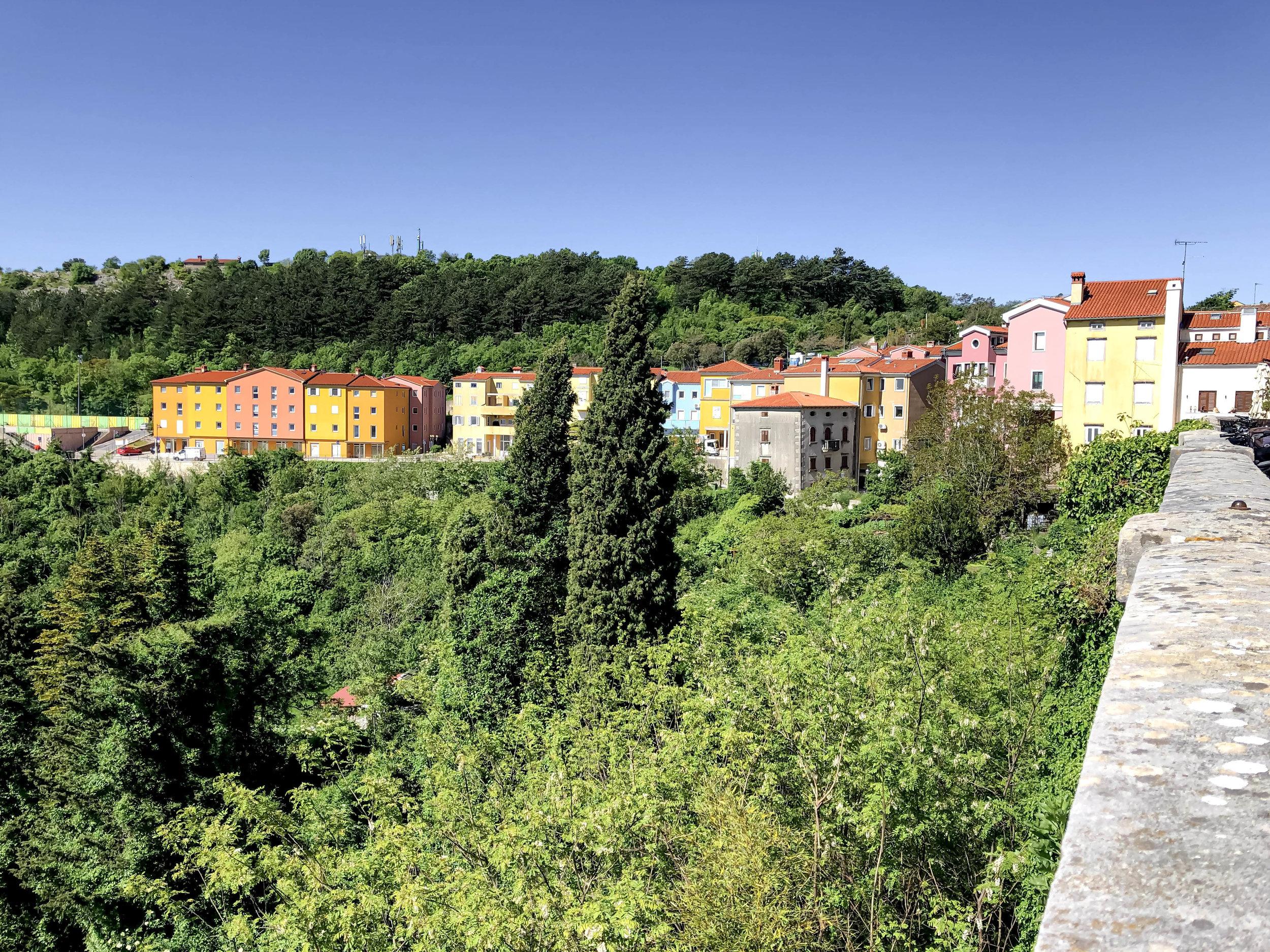 The town of Labin in Istria, Croatia.