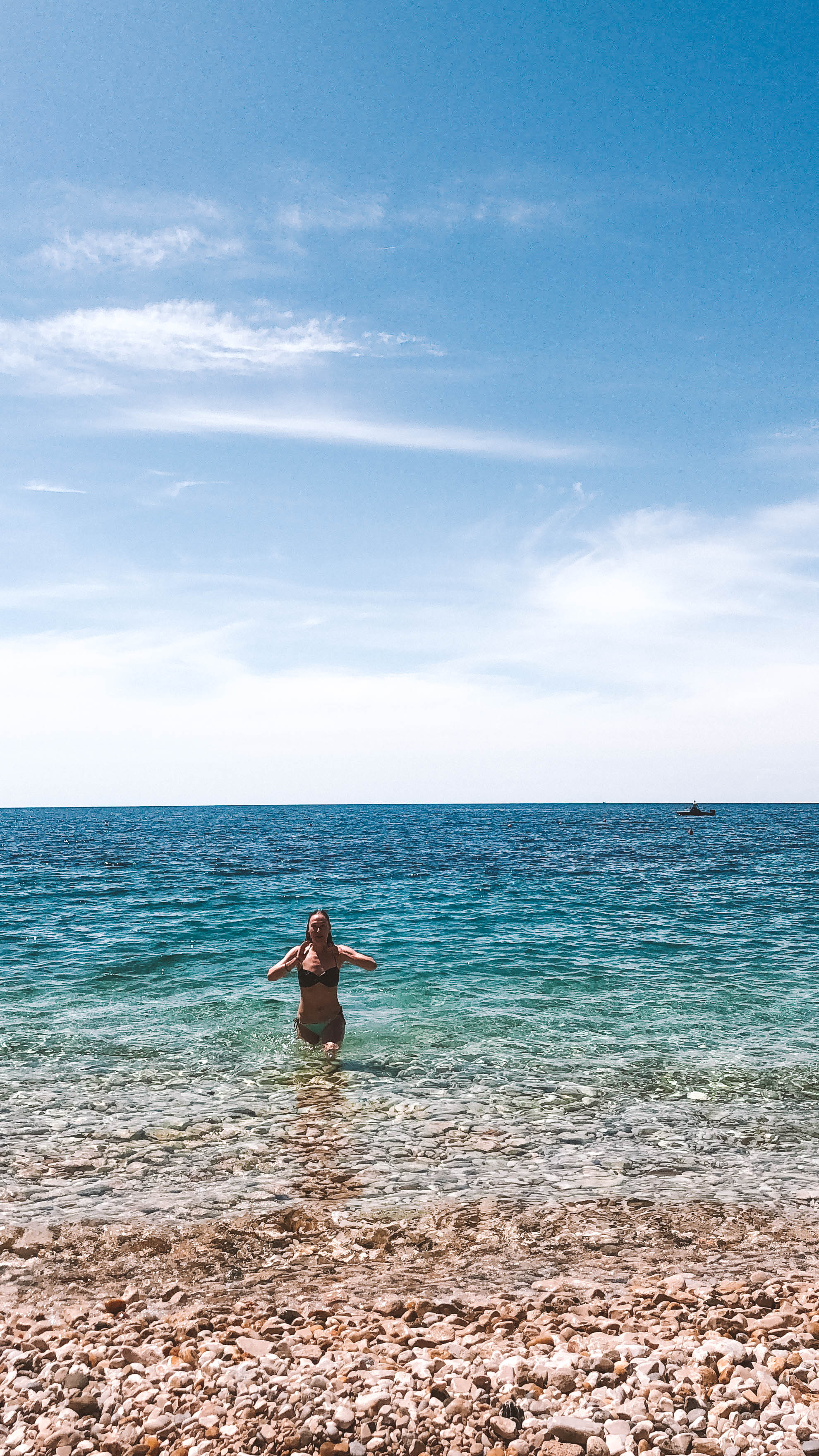 Beach in Cikat, Mali Lôsinj, Croatia