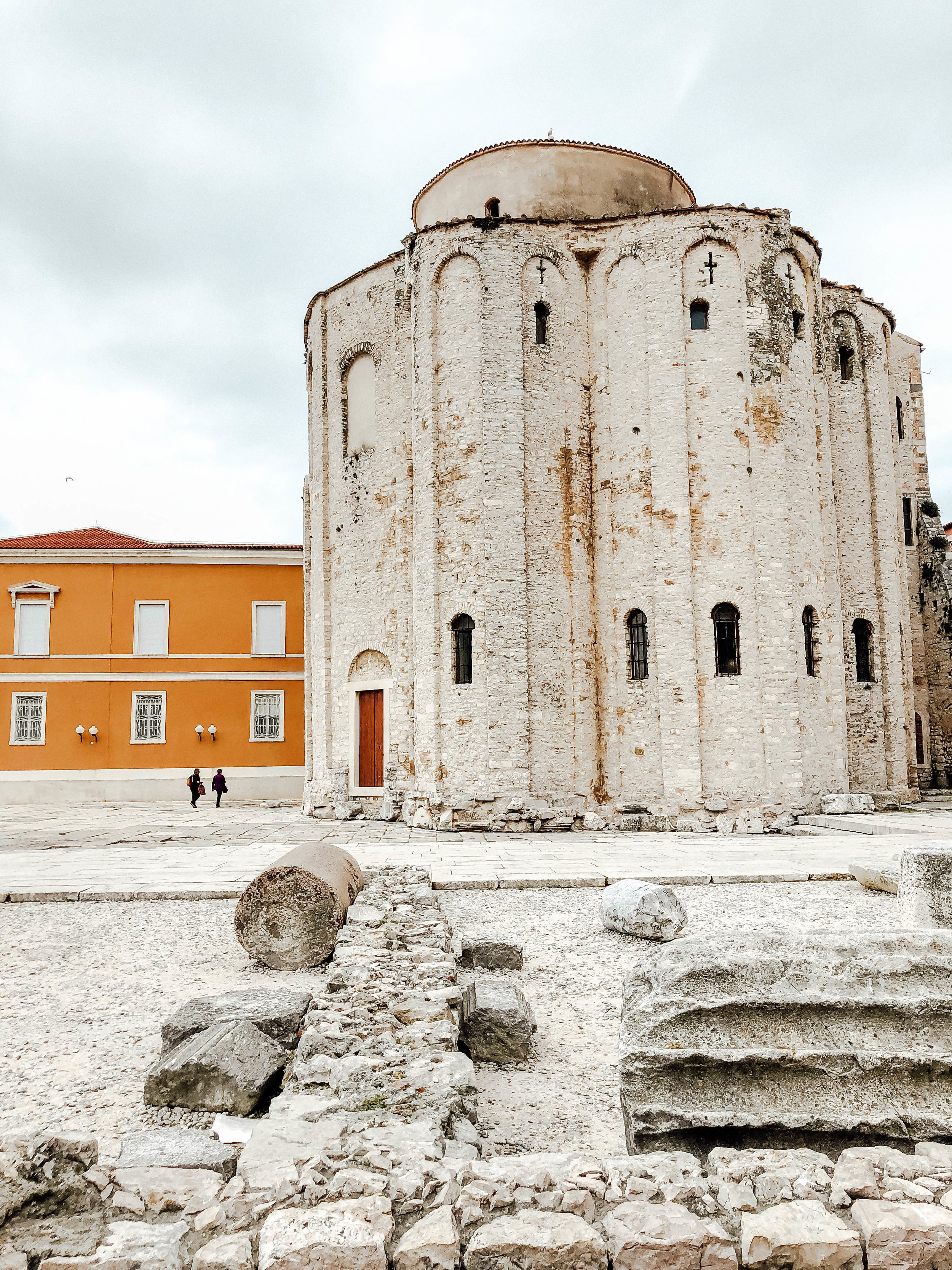 Roman ruins in Zadar, Croatia