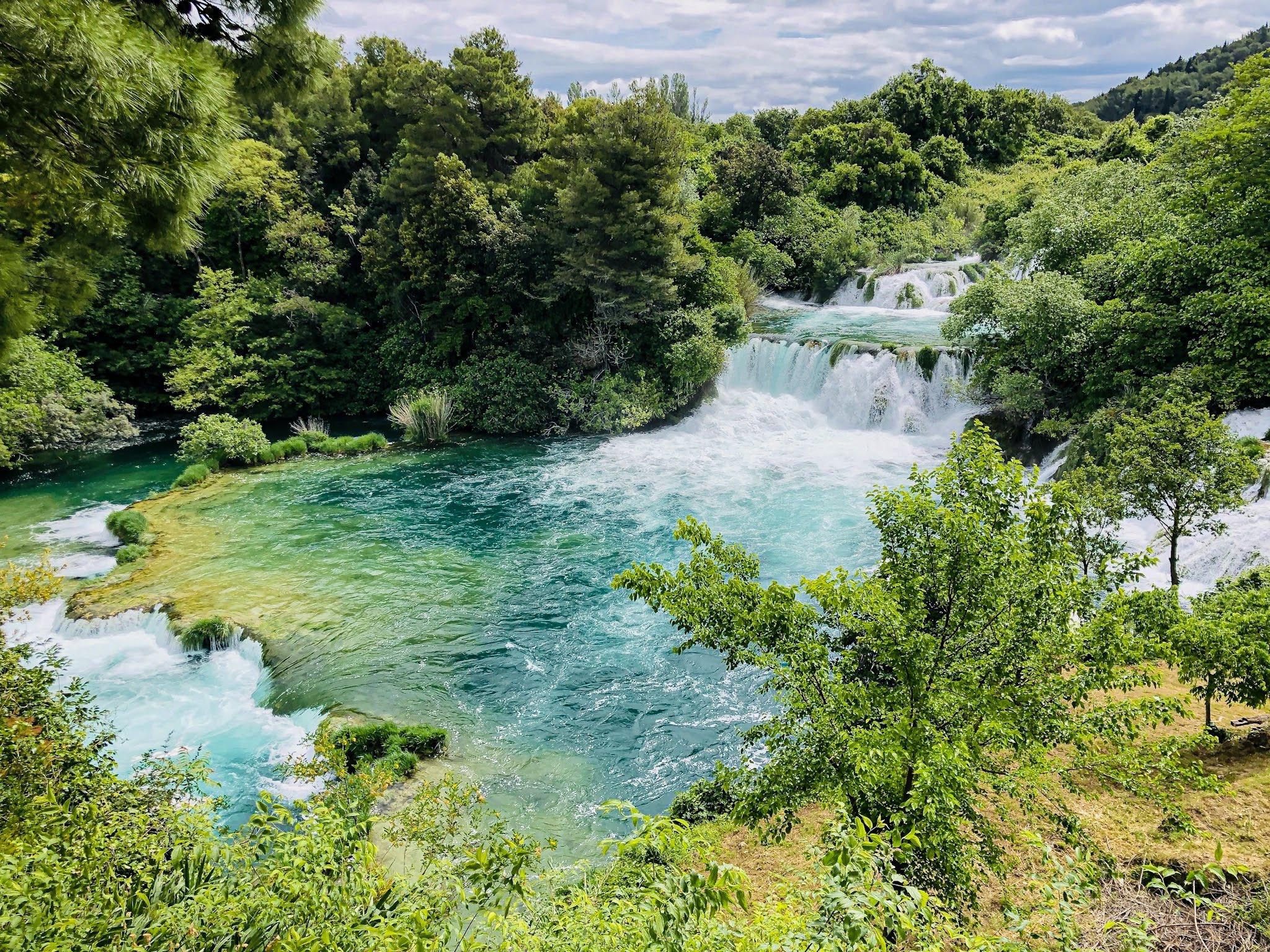 Skradinski buk at Krka National Park Croatia