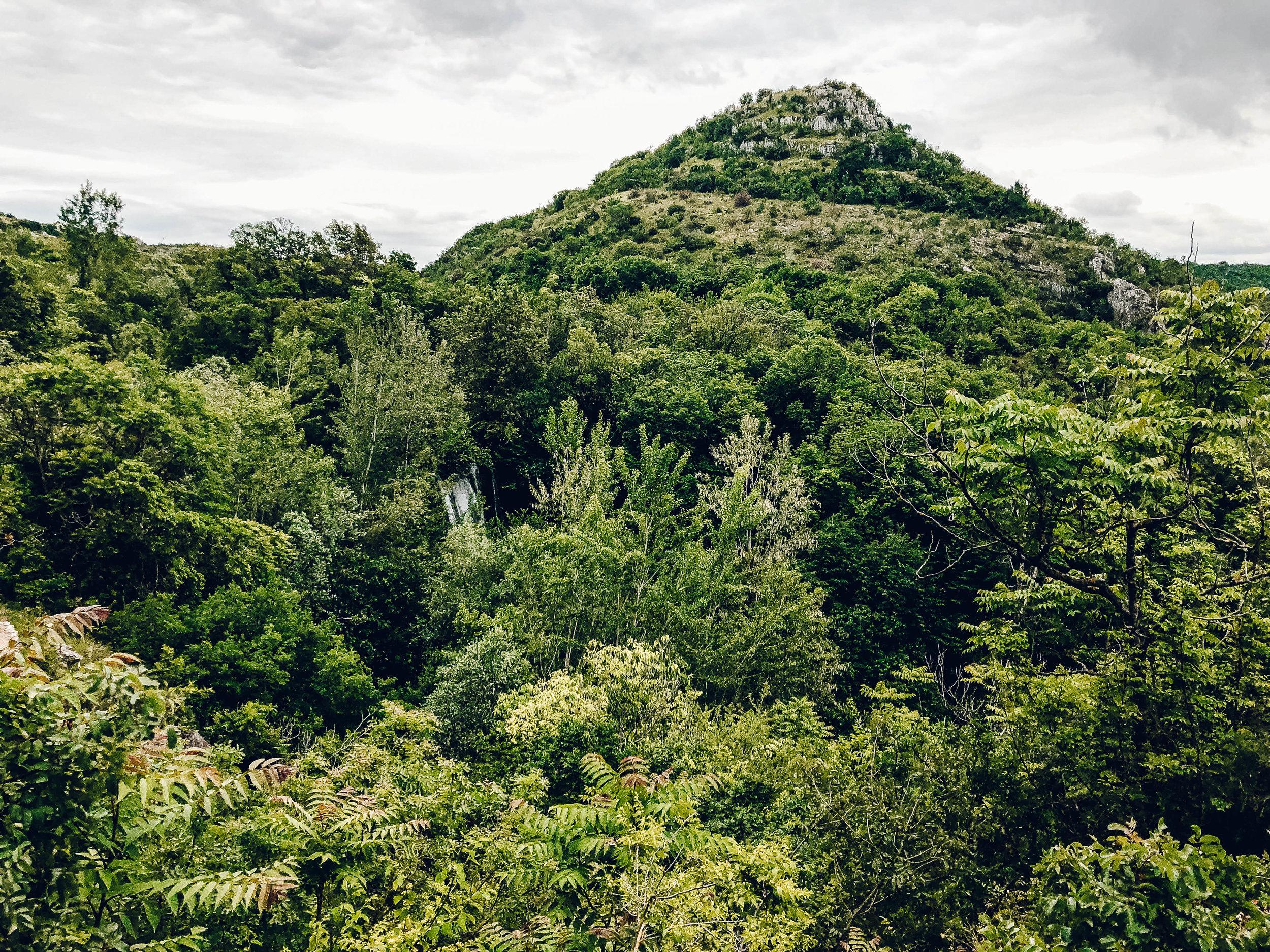 Manojlovacki slap at Krka National Park