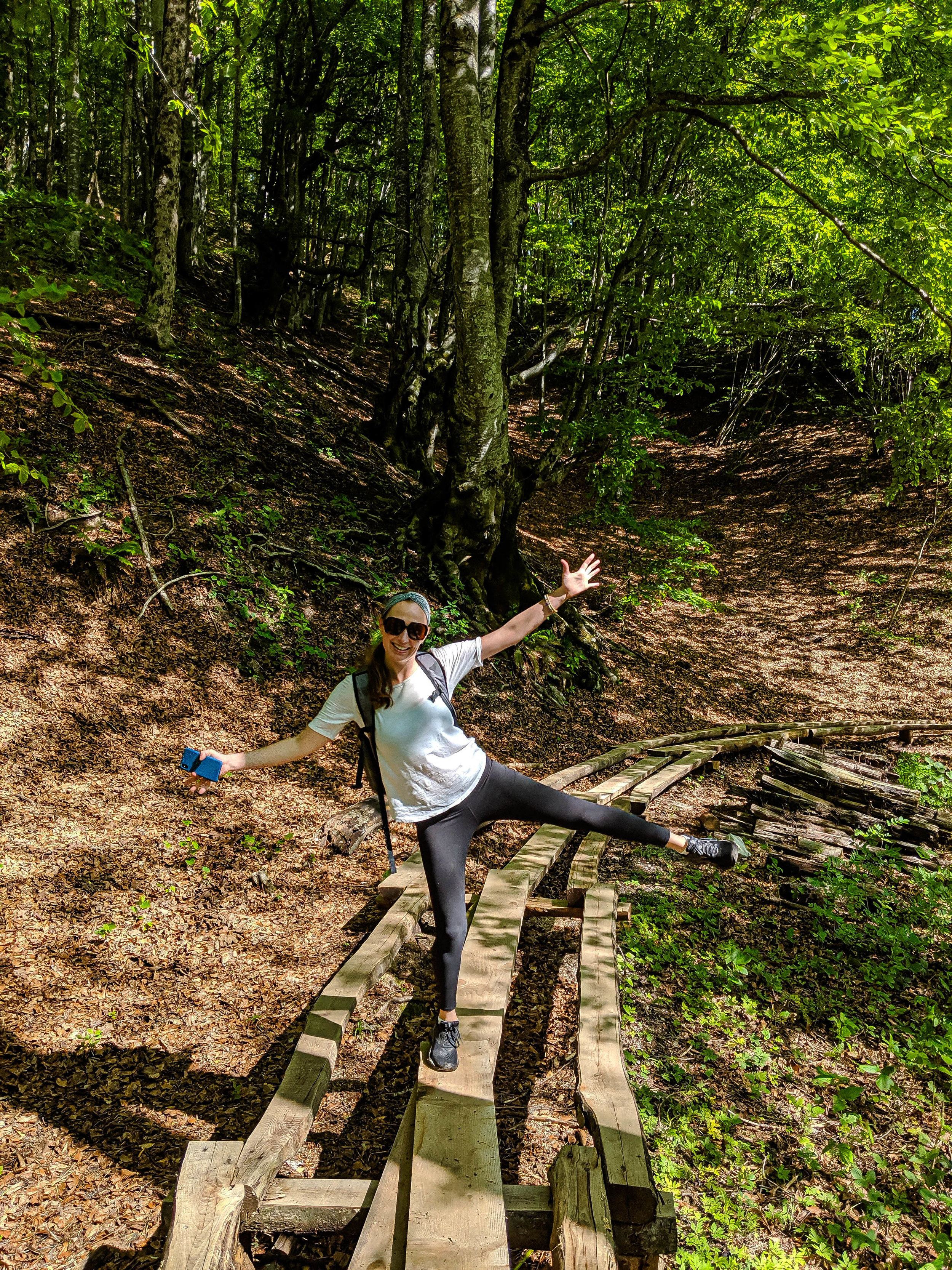K Trail at Plitvice National Park Croatia