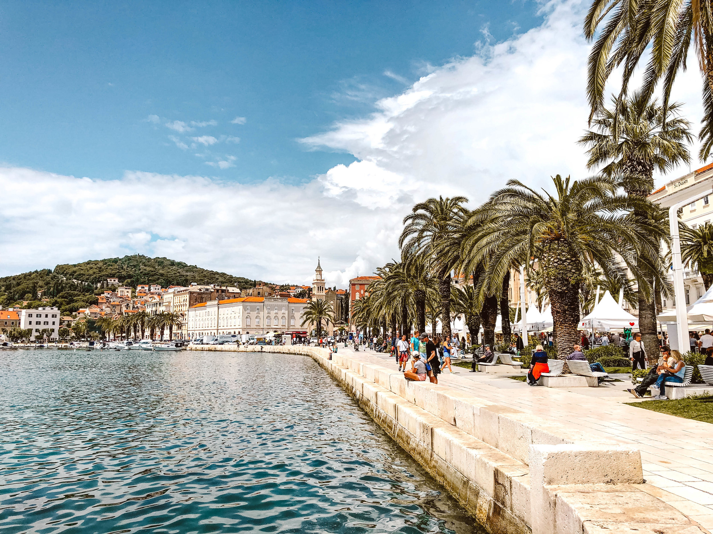 Marina in Split, Croatia
