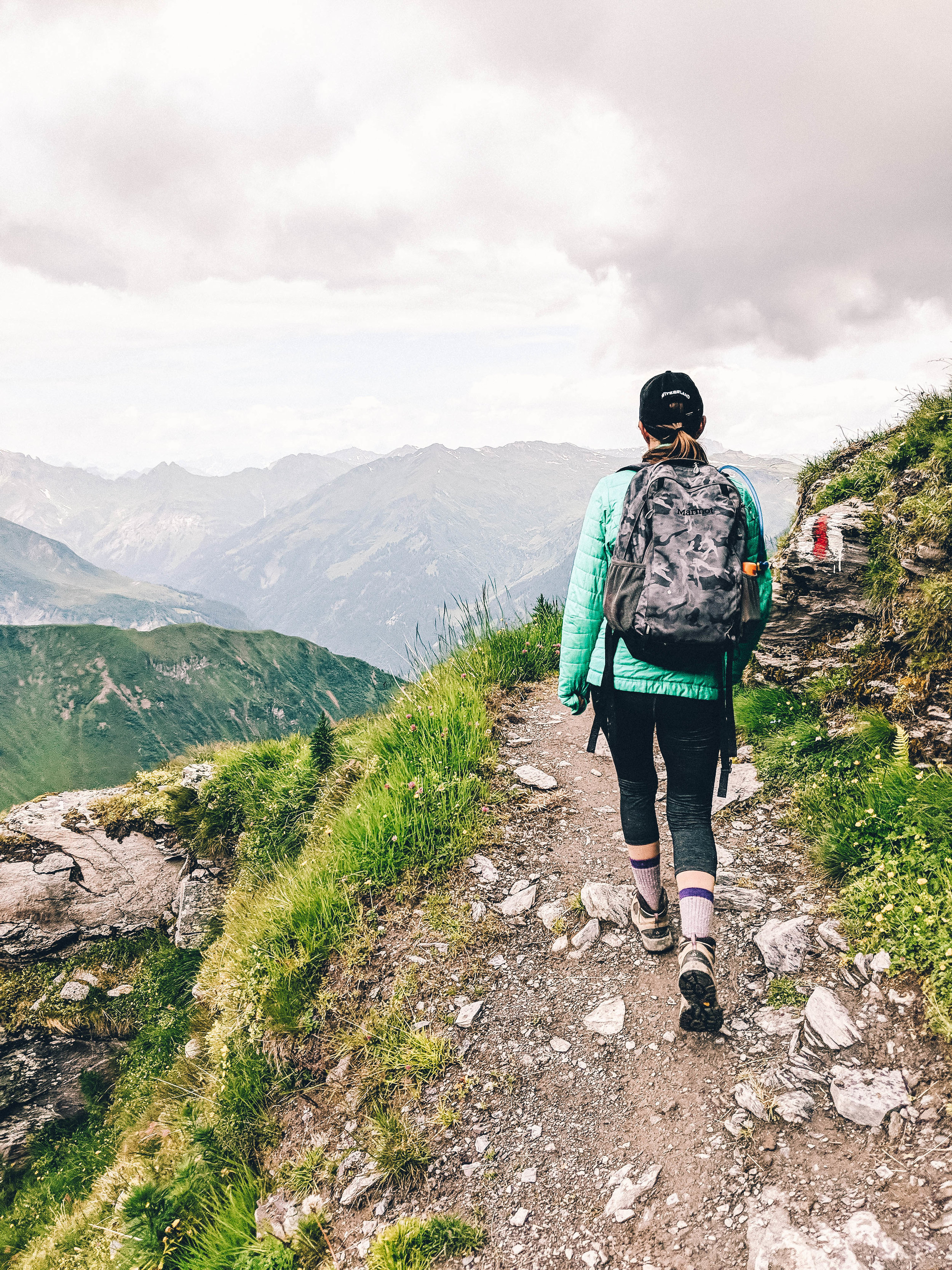 Hiking the Pizol Five Lakes Trail in Switzerland