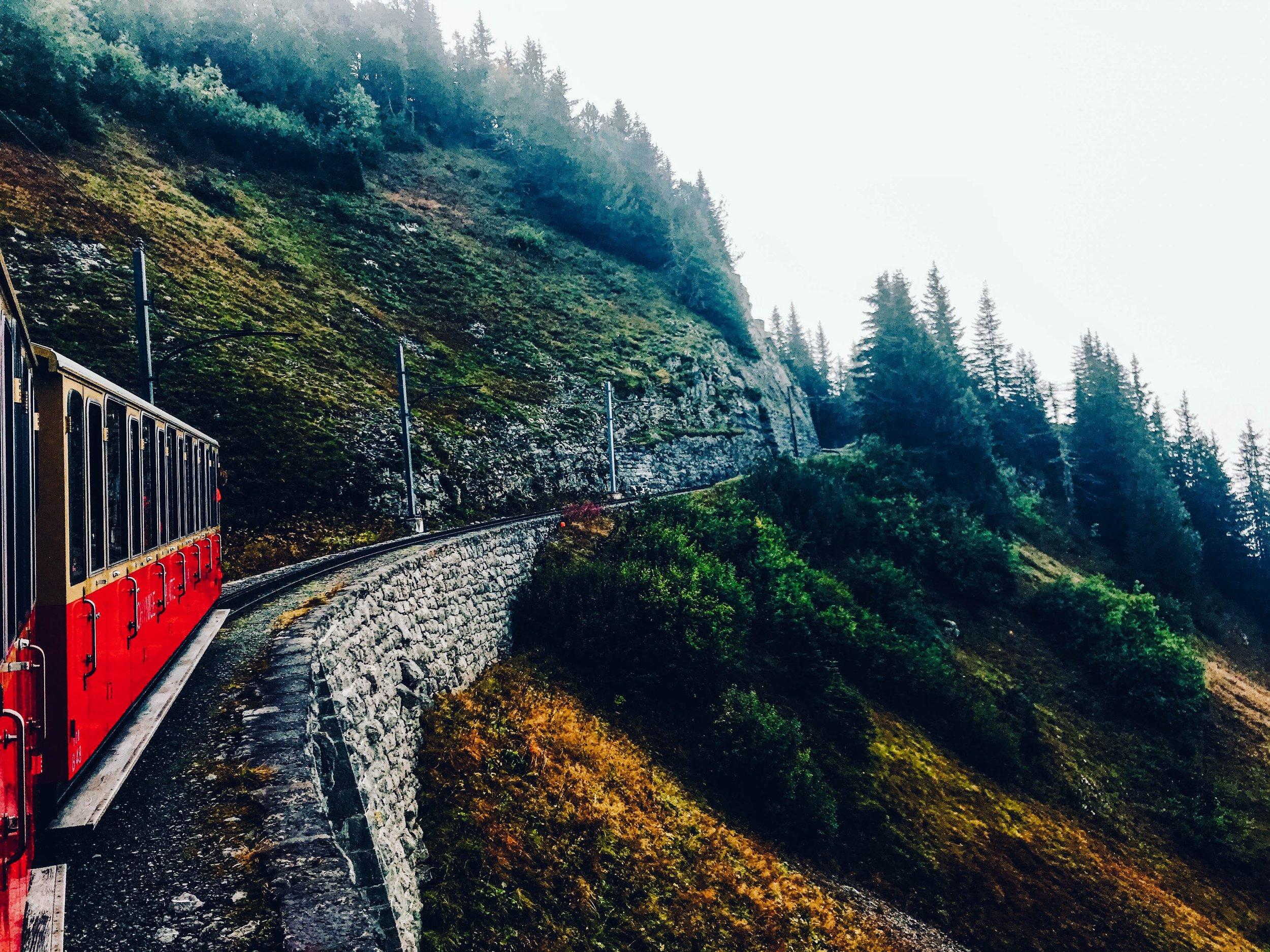 Trail to Schynige Platte Switzerland