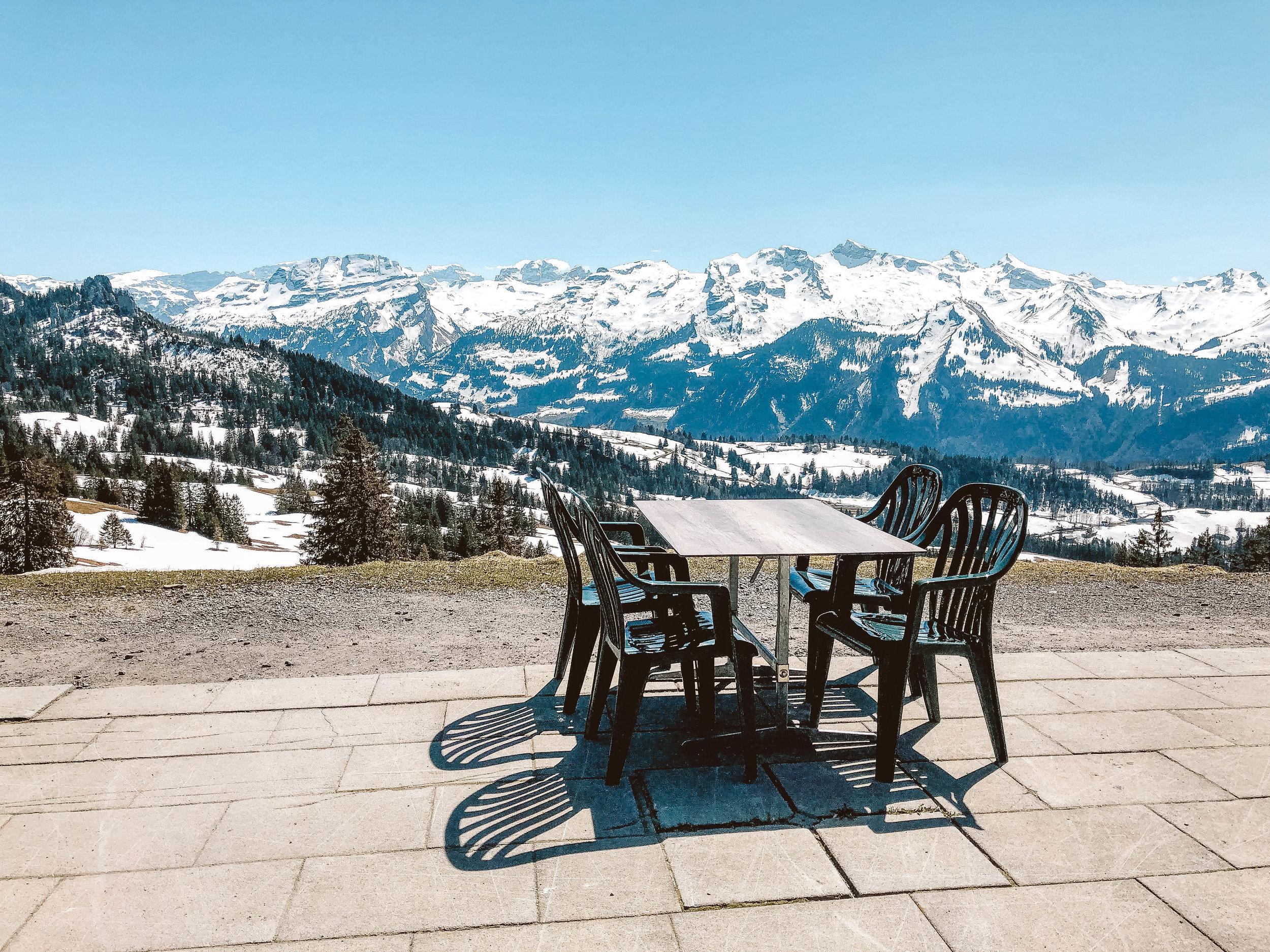 Berghaus in Brunni Switzerland