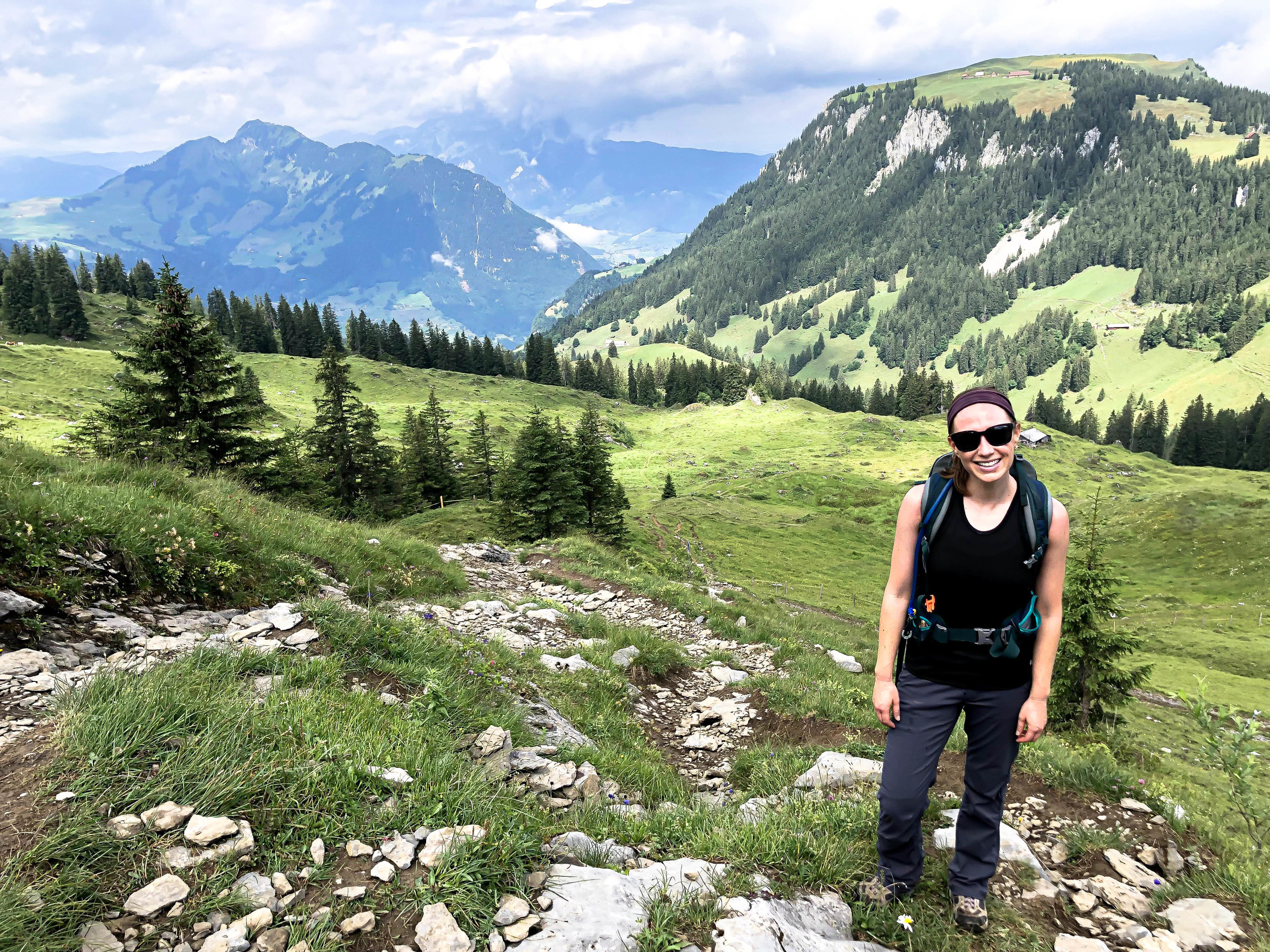 Nidwalden hike up to Brisen Peak