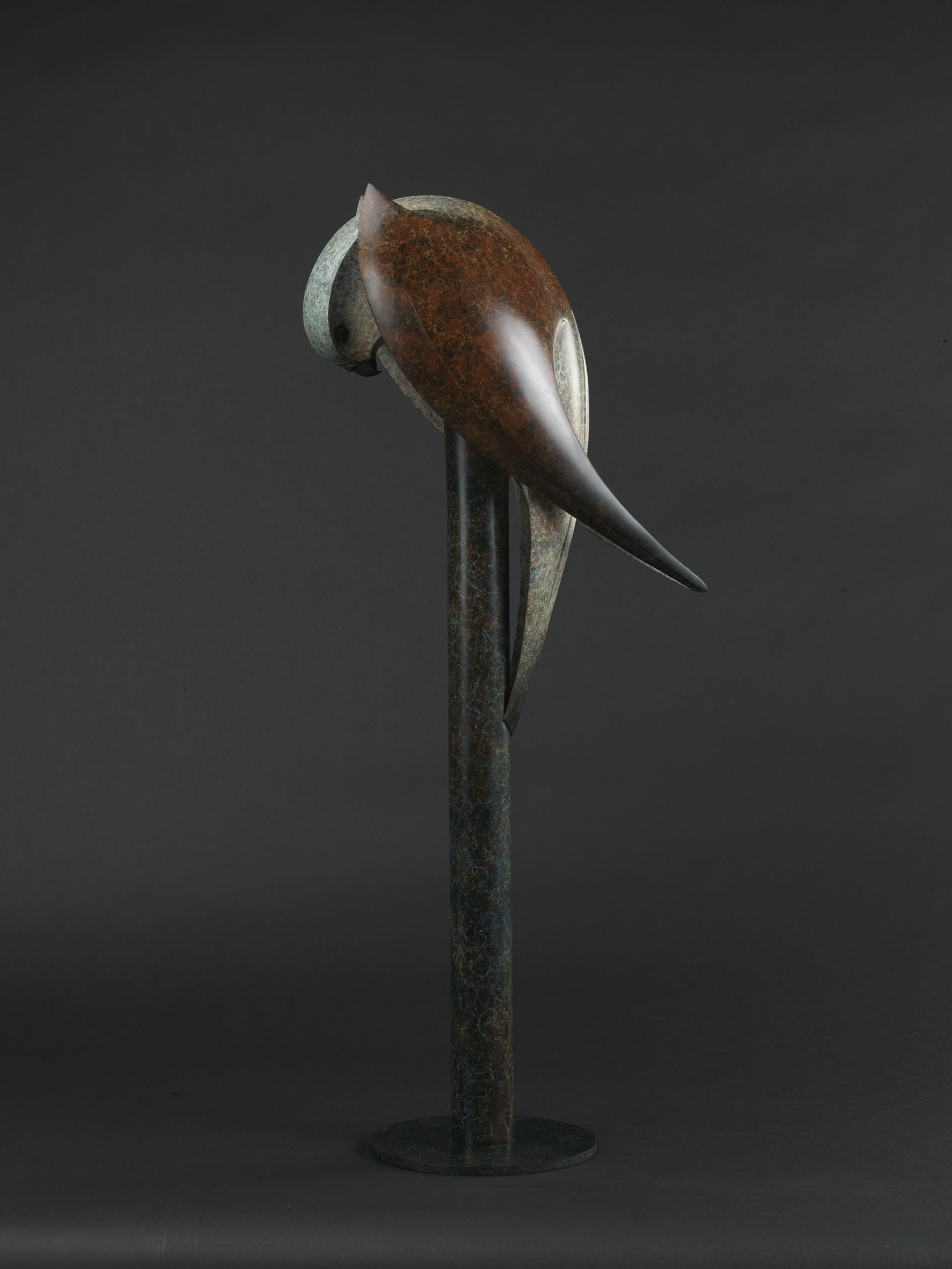 Kestrel sculpture
