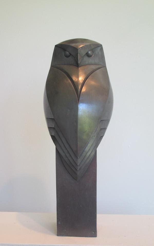 Little Owl sculpture