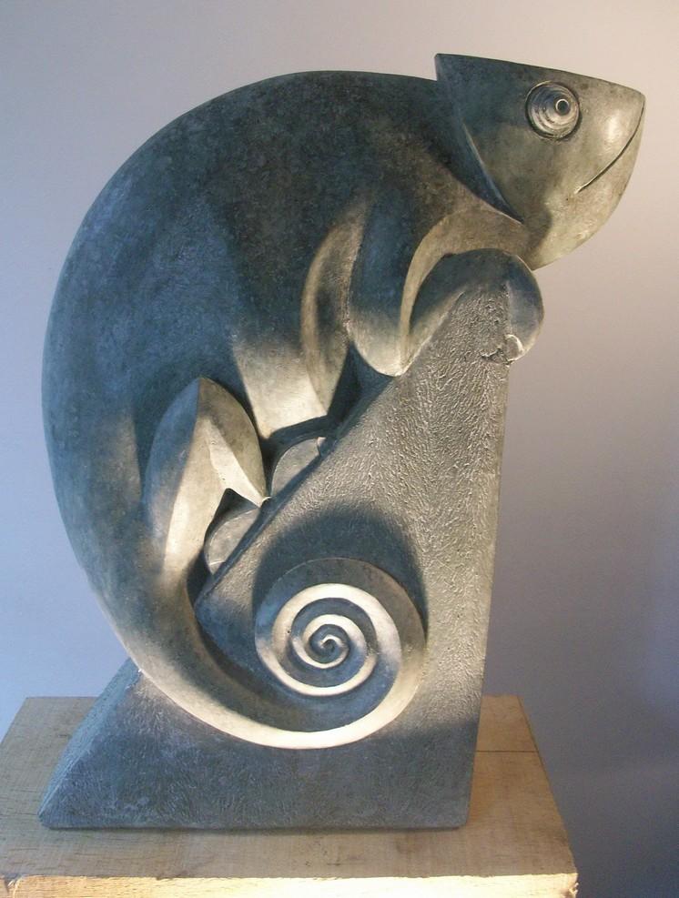 Chameleon . £325 . H 35cm
