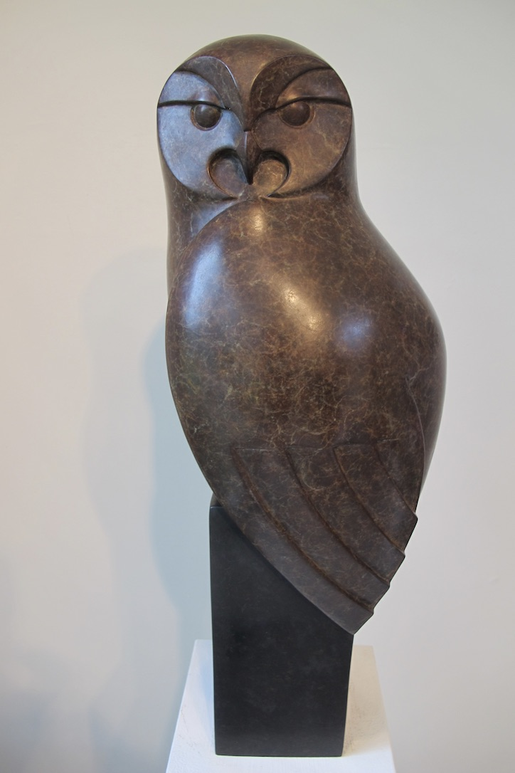 Tawny Owl . £3750 . H 50cm