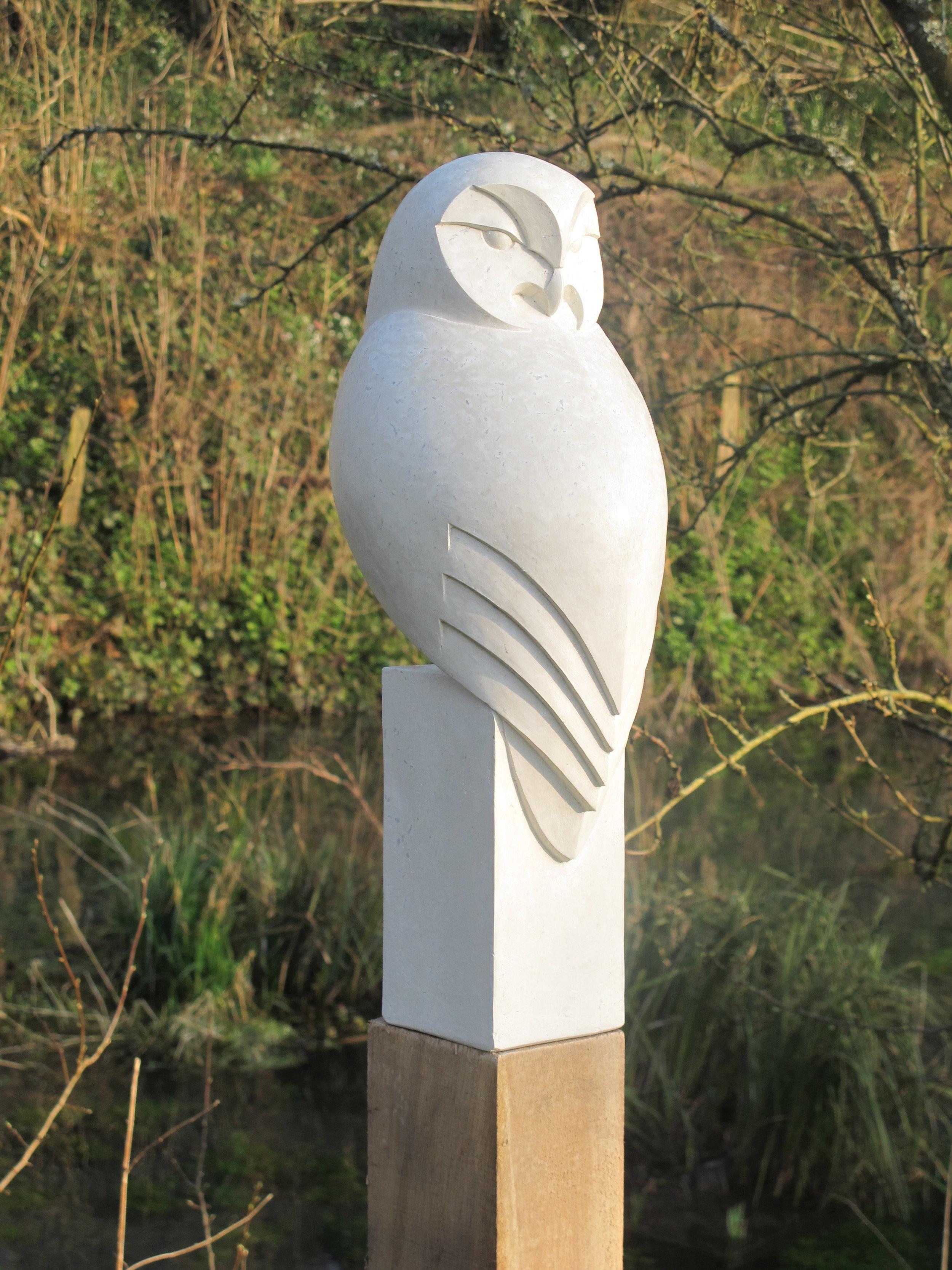 Tawny Owl back. £580 w/o post. H 50cm