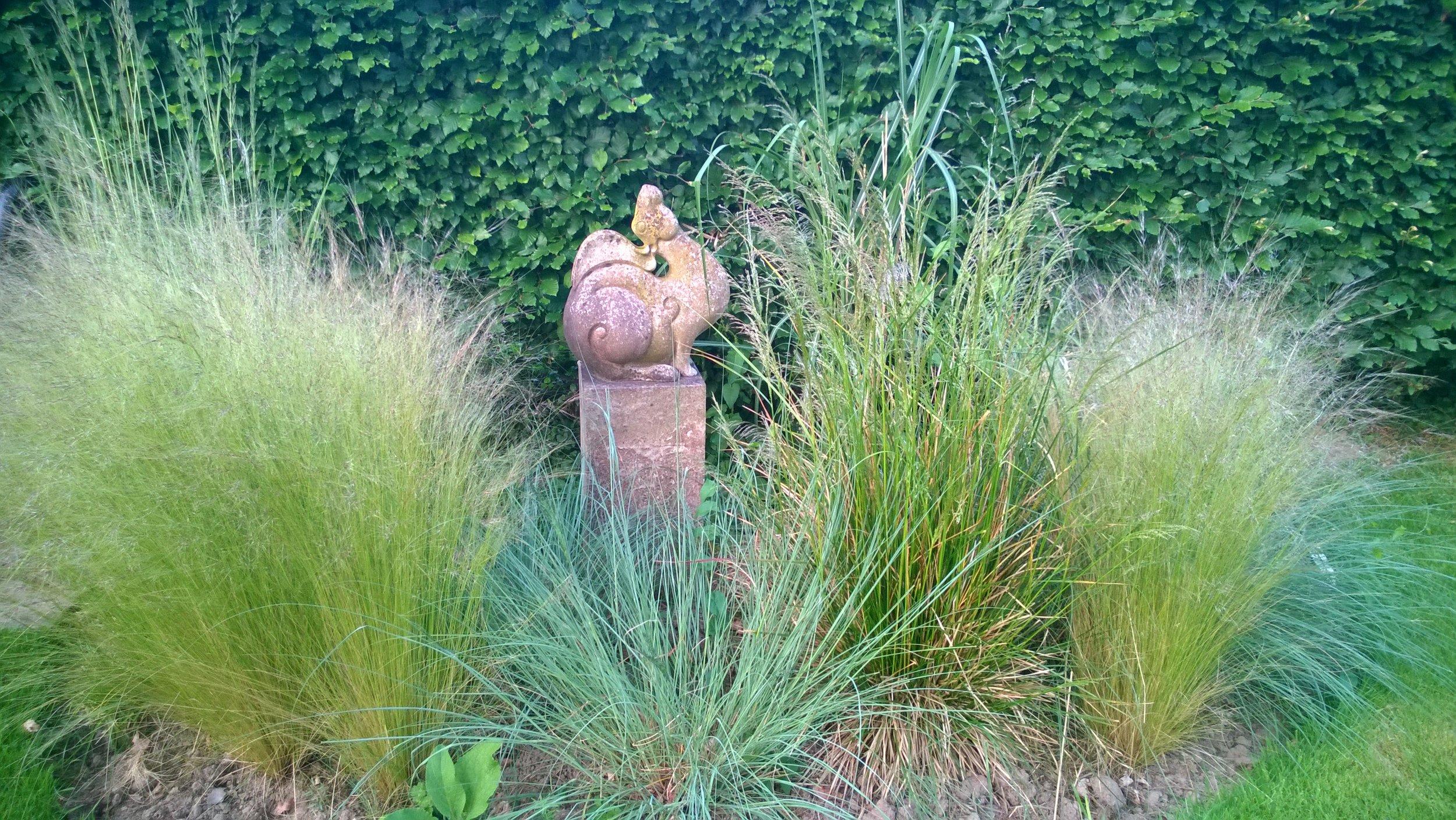 Hare. £425 w/o plinth. H36cm