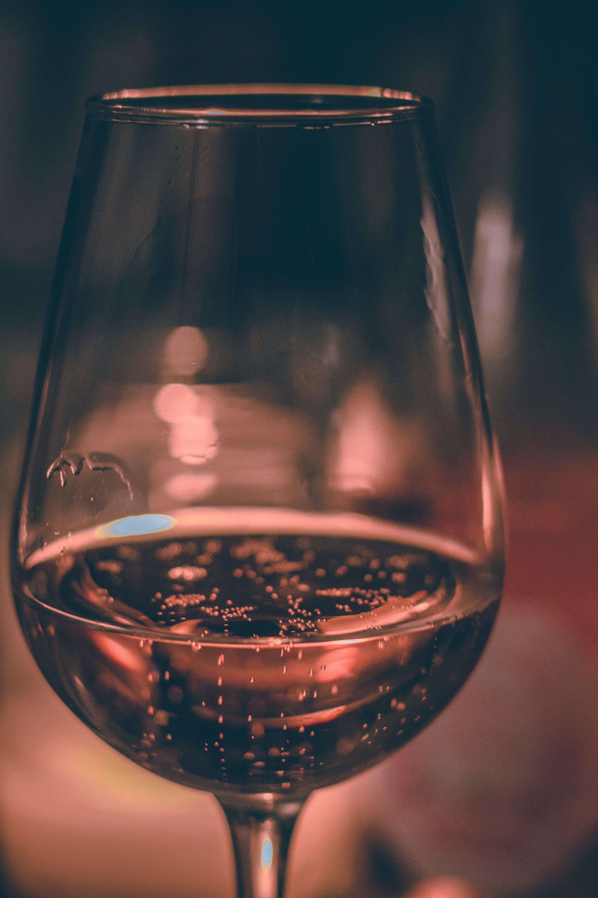 Sparkling sake -