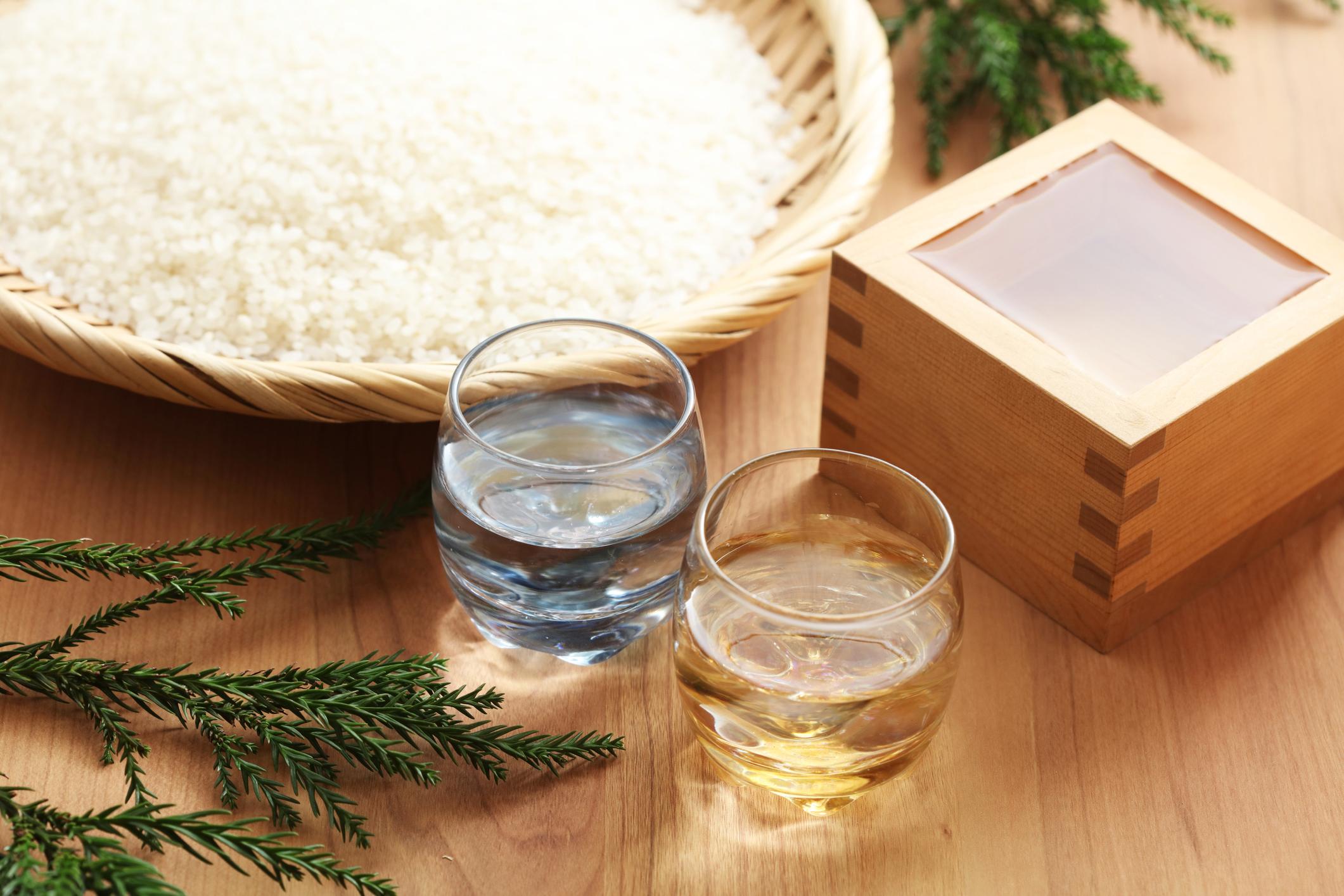 Types of sake -