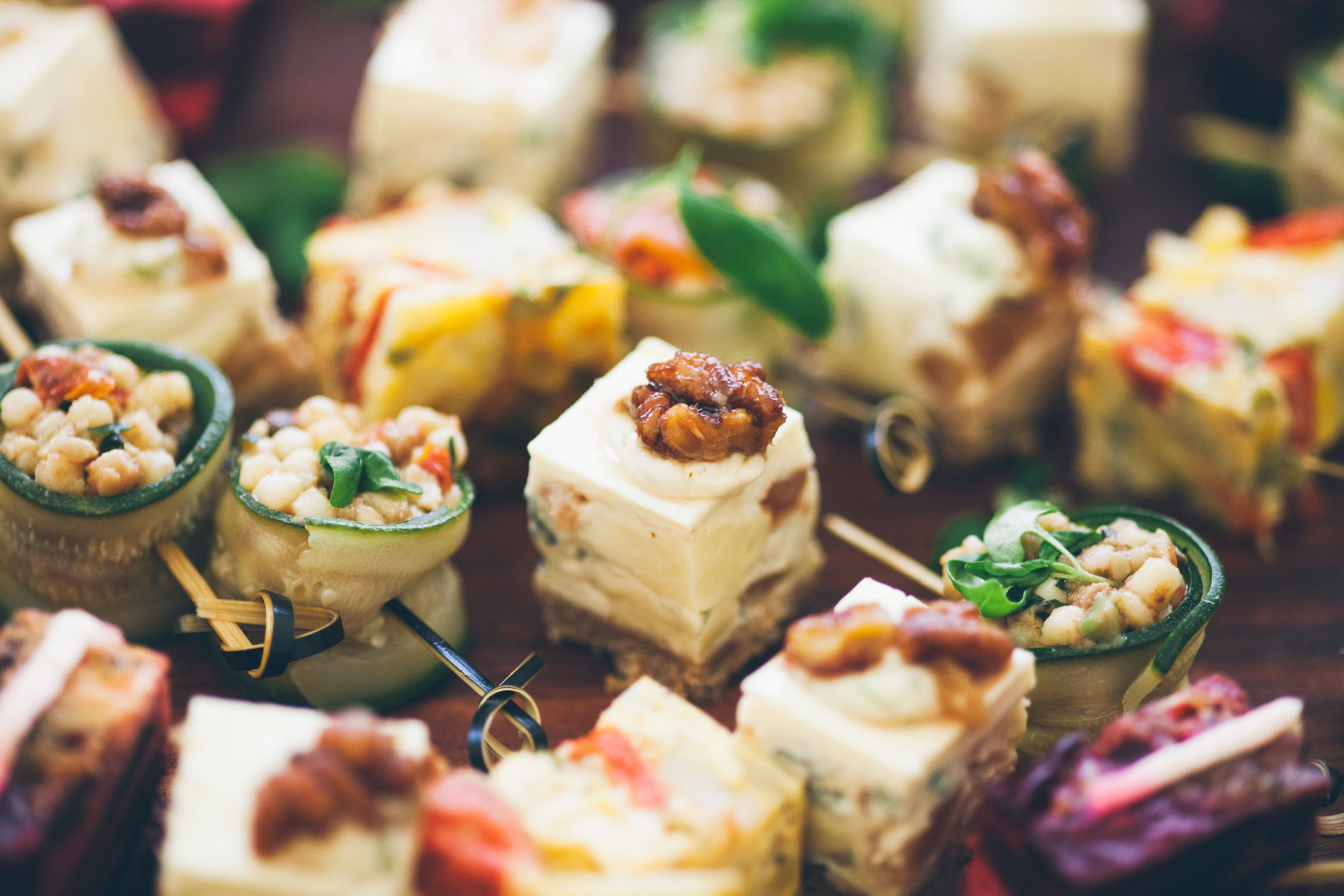 Try pairing me with canapes -