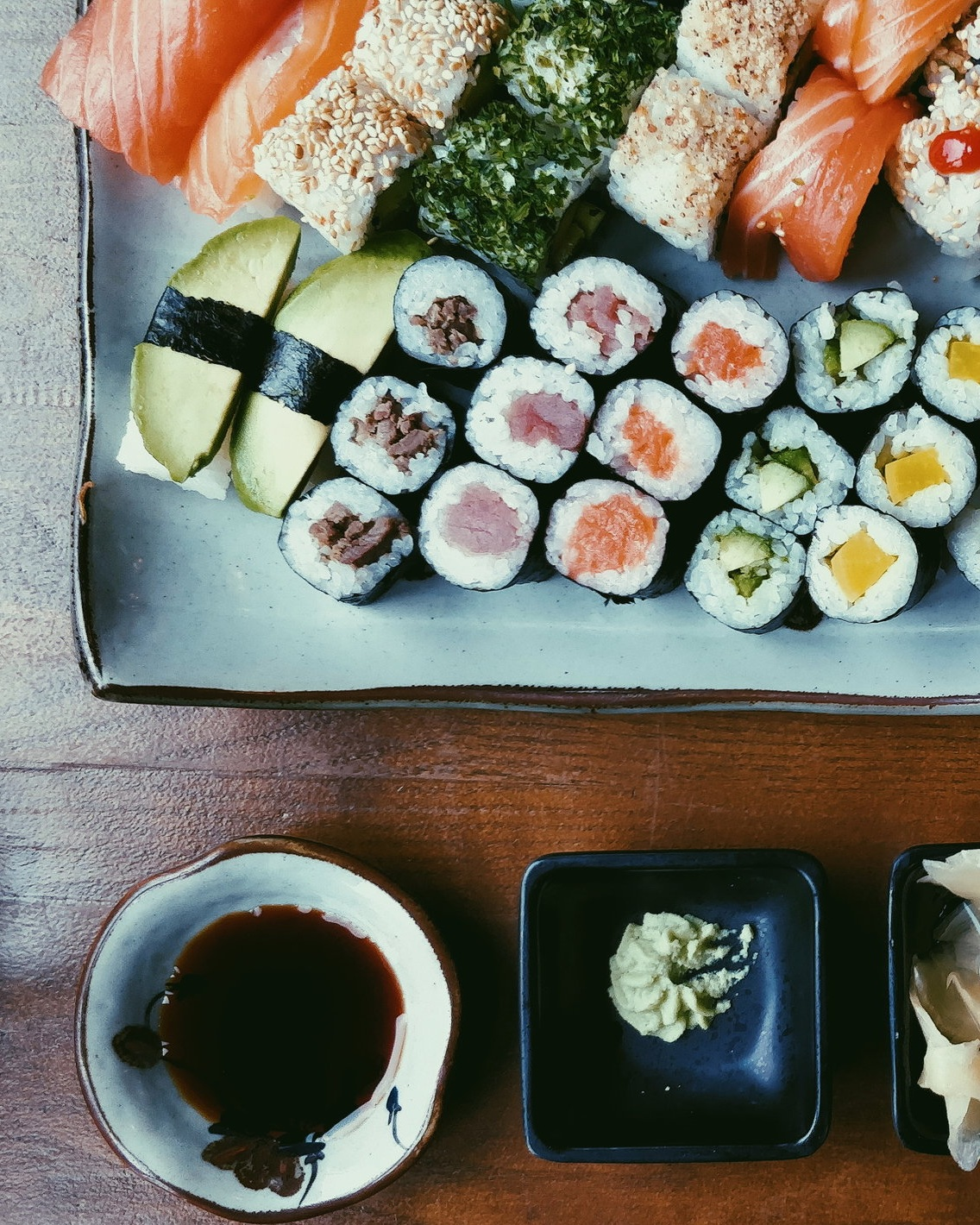 Try pairing me with sushi -