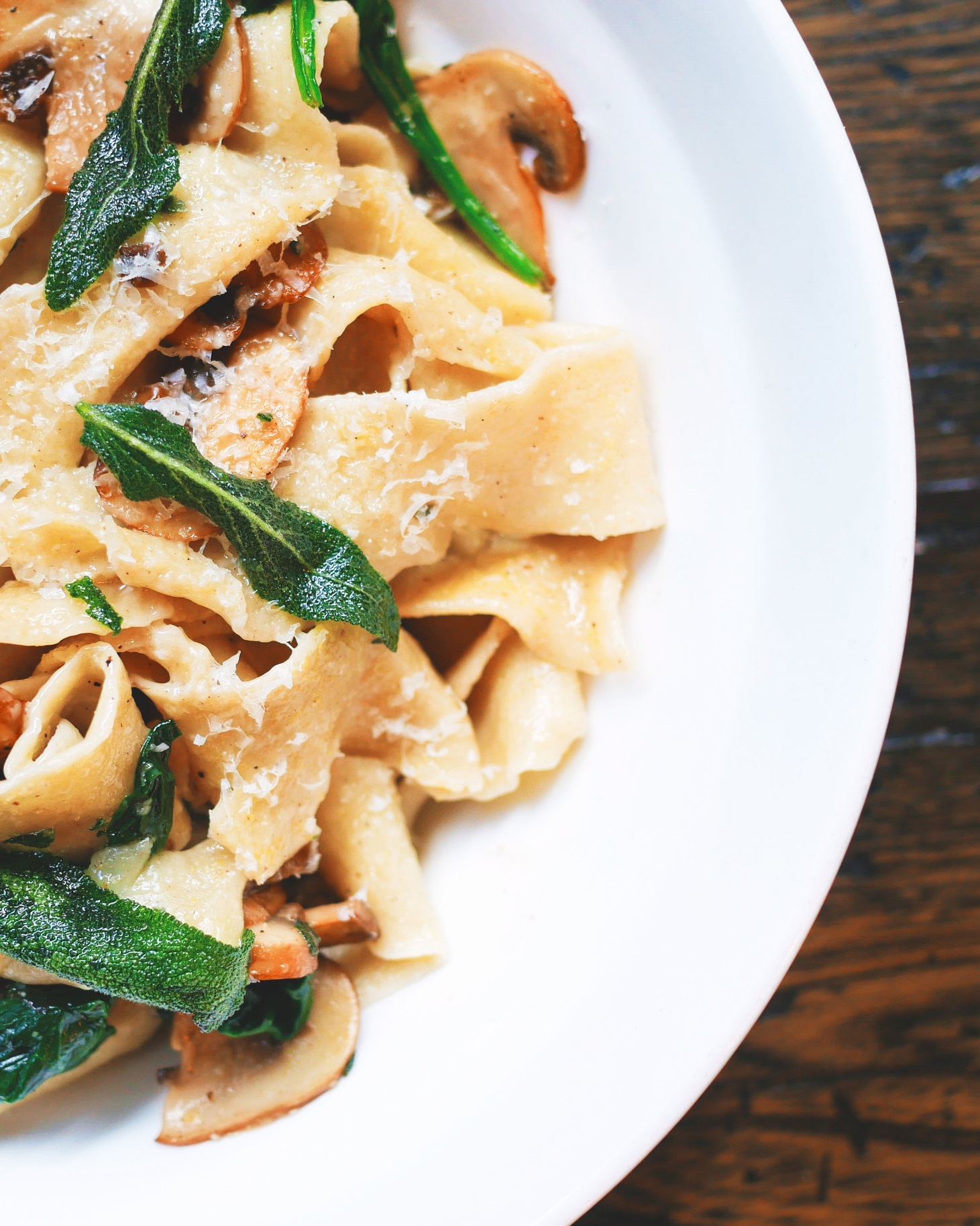 Try paring me with mushroom pasta -