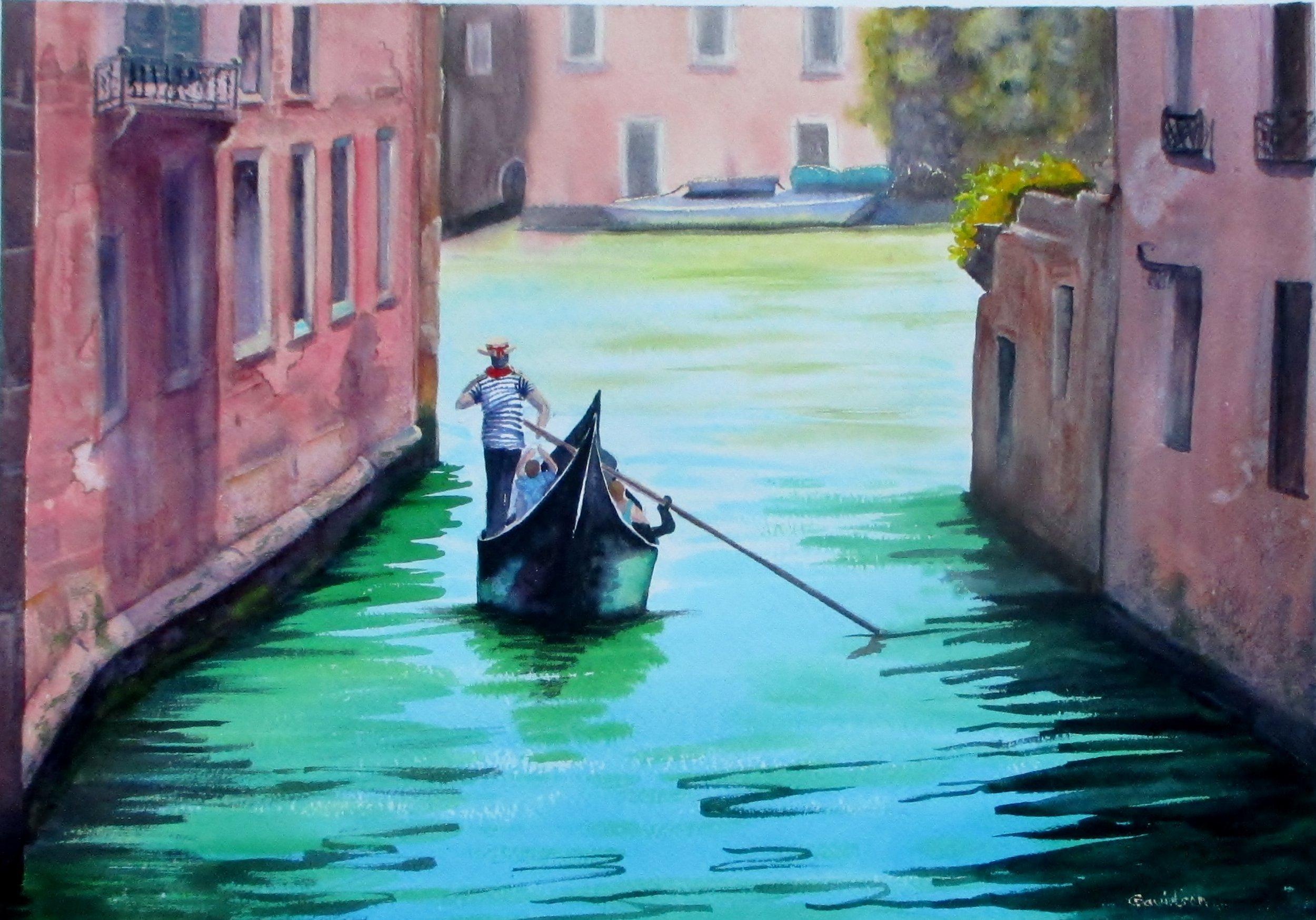 Carol Davidson - Into The Light, Venice