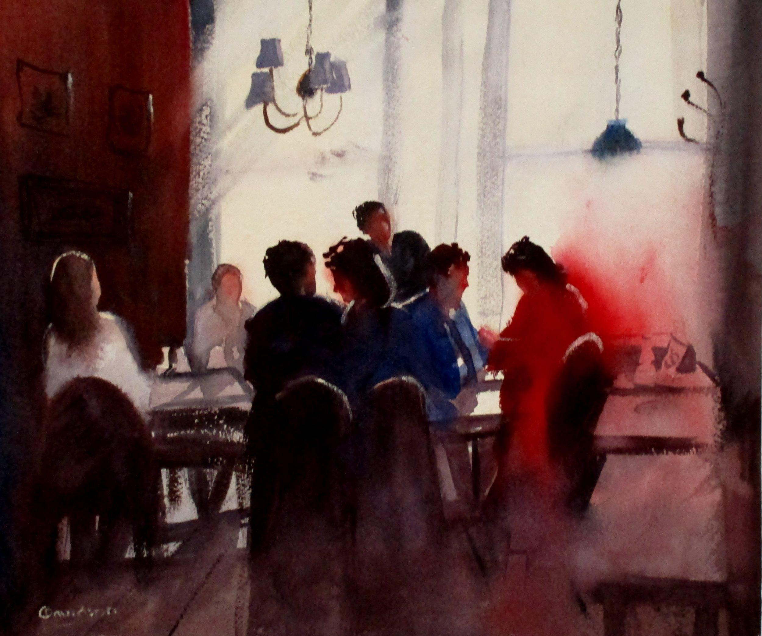 Carol Davidson - Cafe Culture