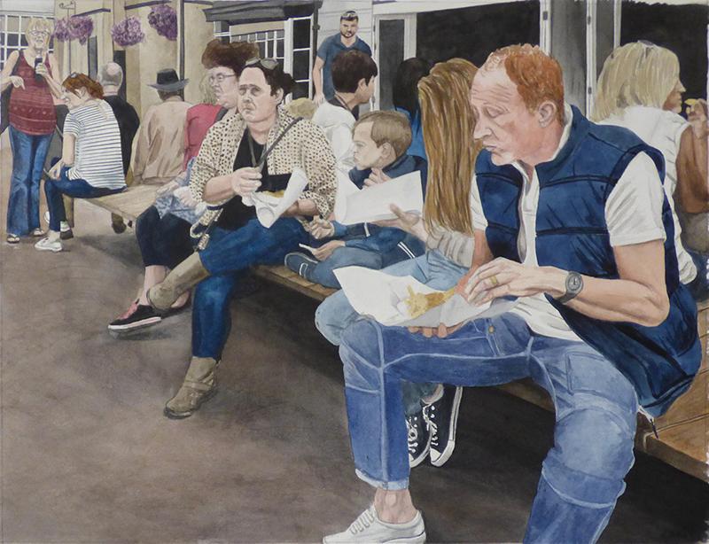 Elizabeth Nast - Fish and Chips, Scarborough