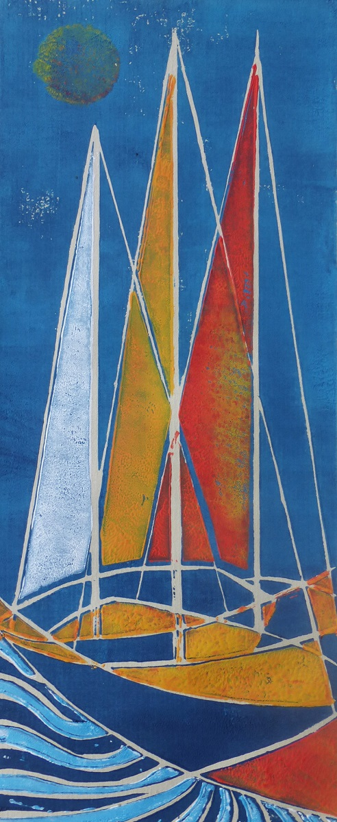 Val Gamble - Boats At Rest IV