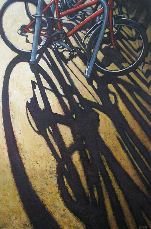 Meg Burkill - Shadows in the Shed