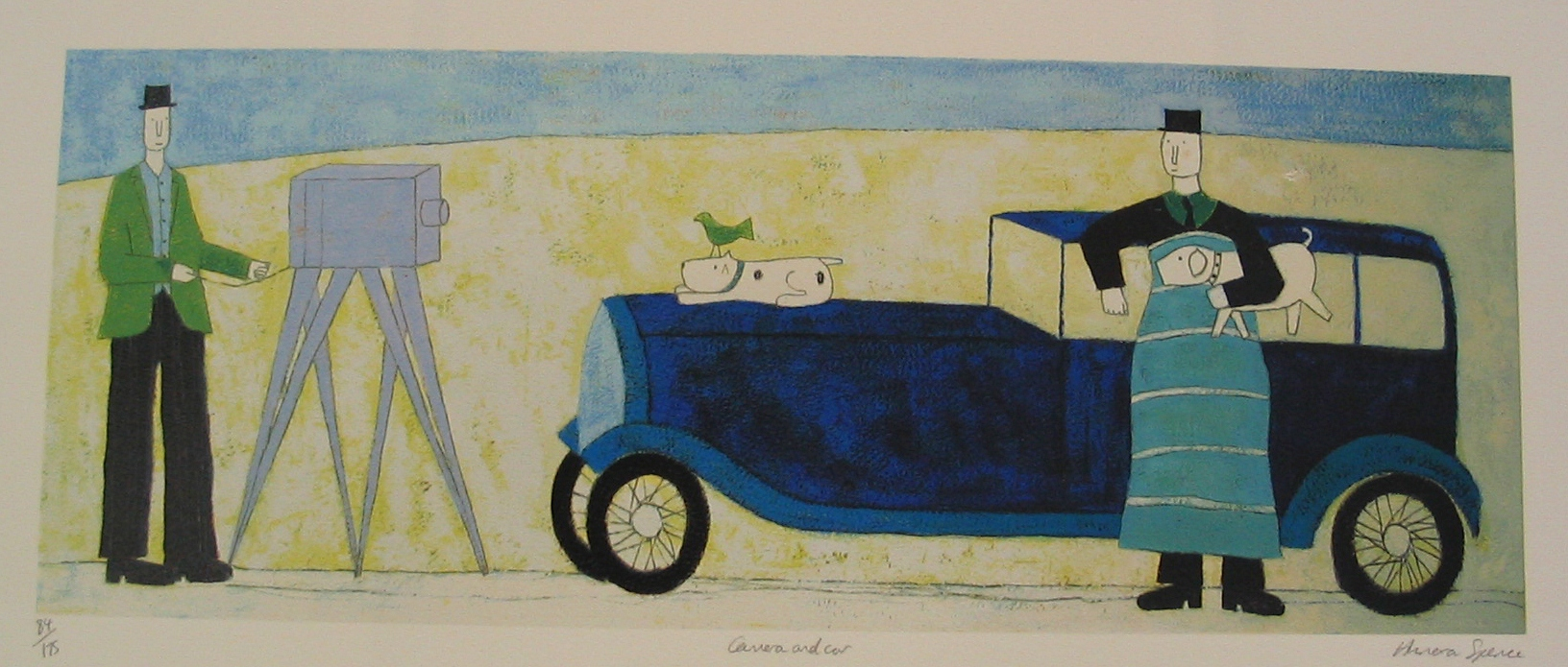 Annora Spence - Car and Camera