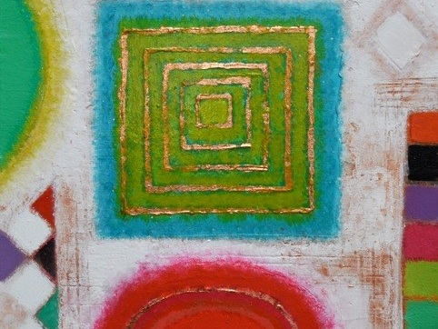 It's All About Colour - New paintings by Rosemary Abrahams, mainly landscape and abstract works, revealing her love of texture and design.
