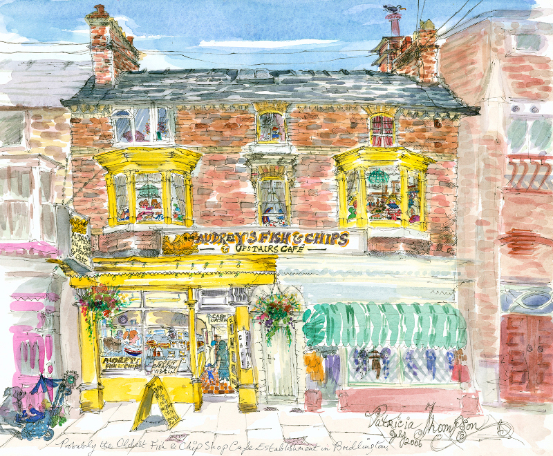 Patricia Thompson - Audrey's Fish and Chip Shop and Cafe