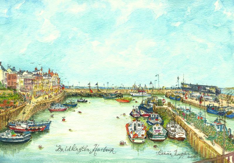 Patricia Thompson - Bridlington Harbour
