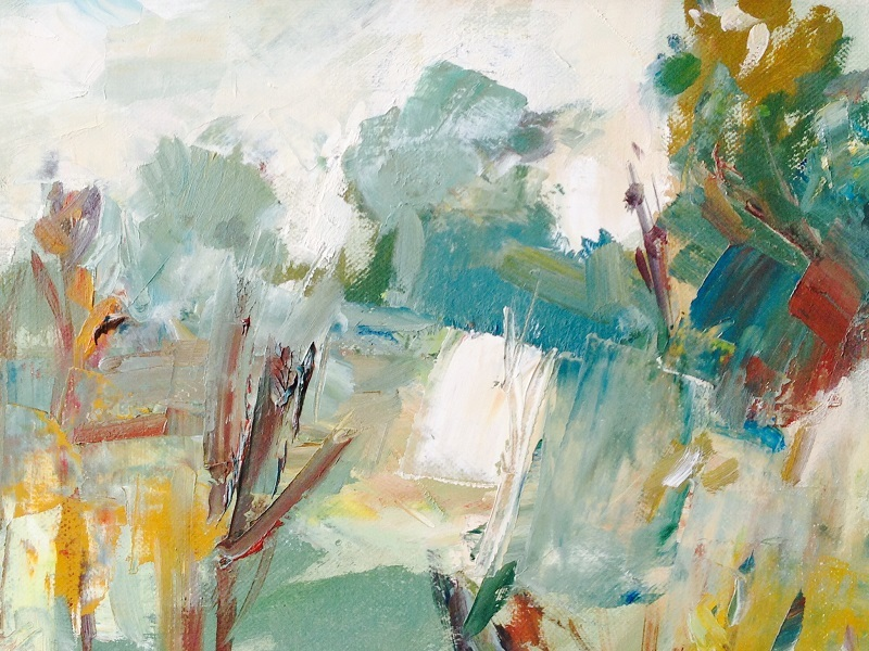 Season of Mists - Autumn exhibition featuring paintings by Janine Baldwin, Barry Carter, Joy Green and Christine Alder.