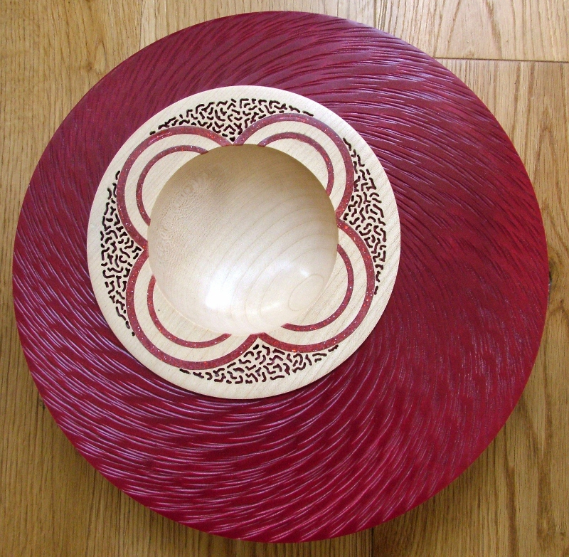 Sue Harker - Red Bewlin Bowl
