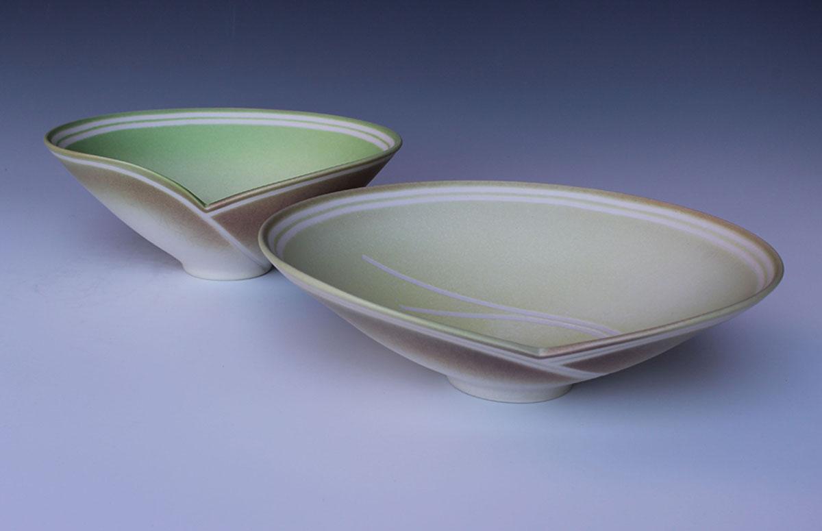 Jenny Morten - 2 Overlapping Bowls