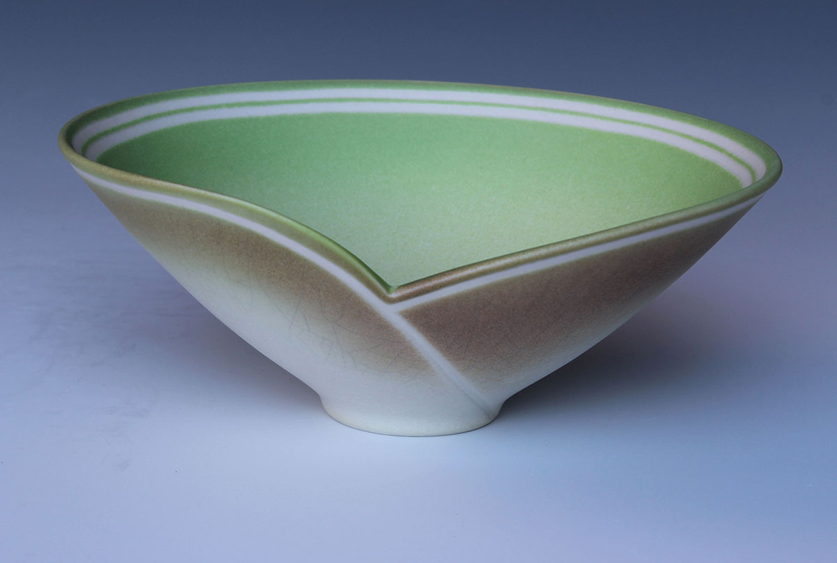Jenny Morten - Overlapping Bowl (Porcelain)