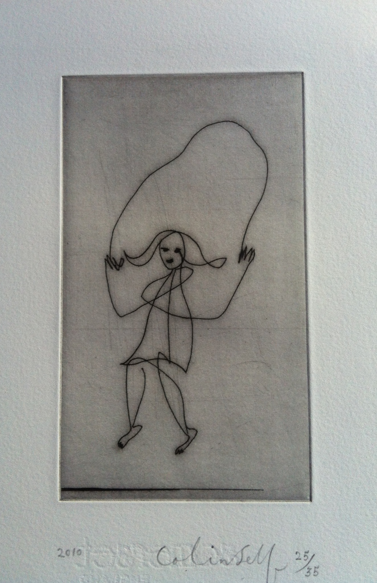 Colin Self - Skipping Girl Large
