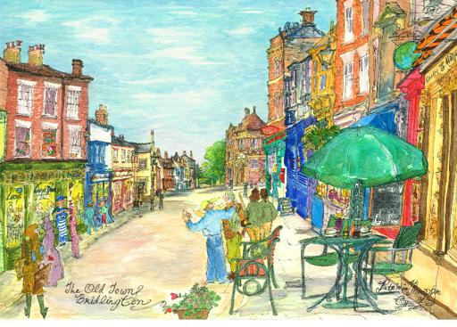 Patricia Thompson - The Old Town, Bridlington