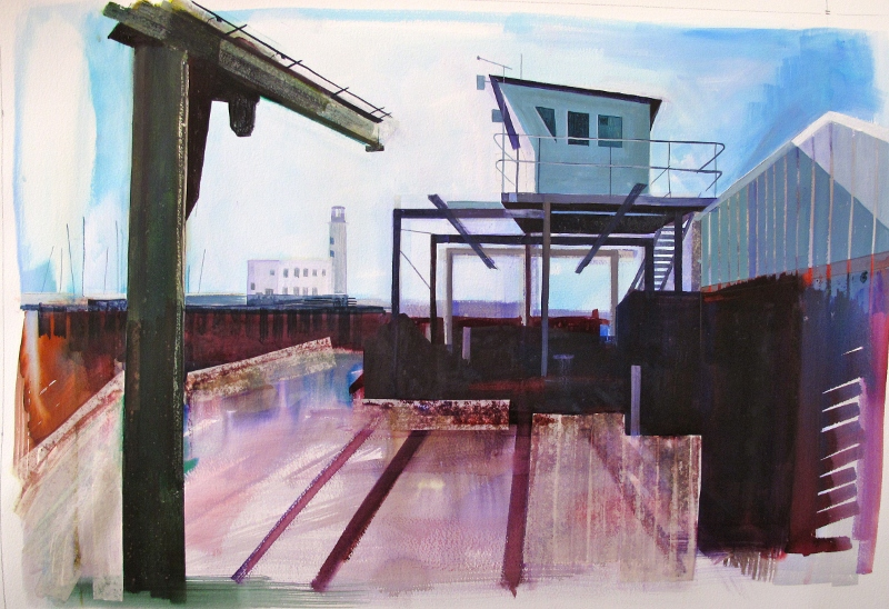 Lynne Wixon - Scarborough Harbour I