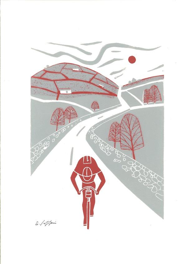Giuliana Lazzerini - The Race (Red-Grey)