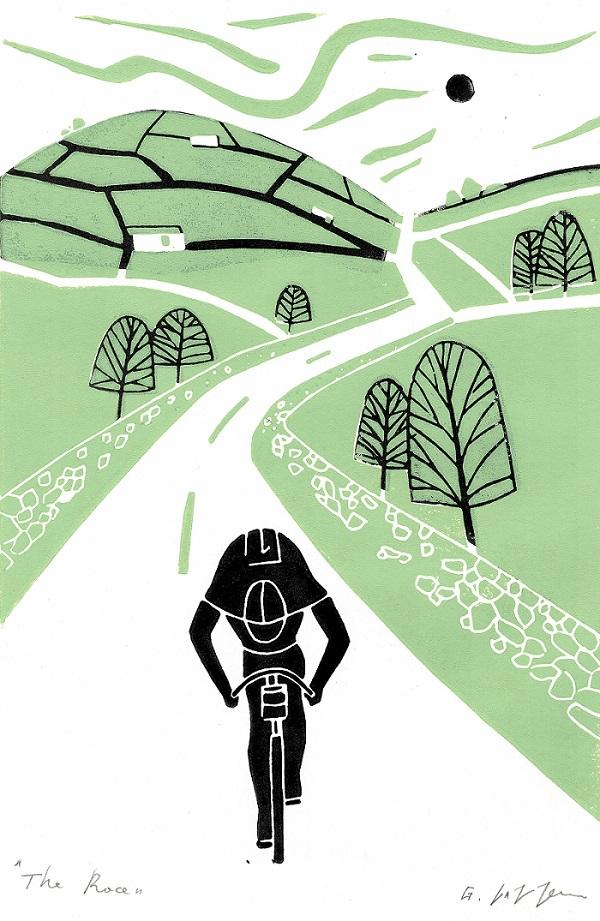 Giuliana Lazzerini - The Race (Green)
